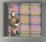 Best of Scottish pipes & drumps - Grampian police pipe band a další .. (CD)