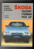 Škoda - Favorit, Forman, Pick up - J.Andrt, T. Malina