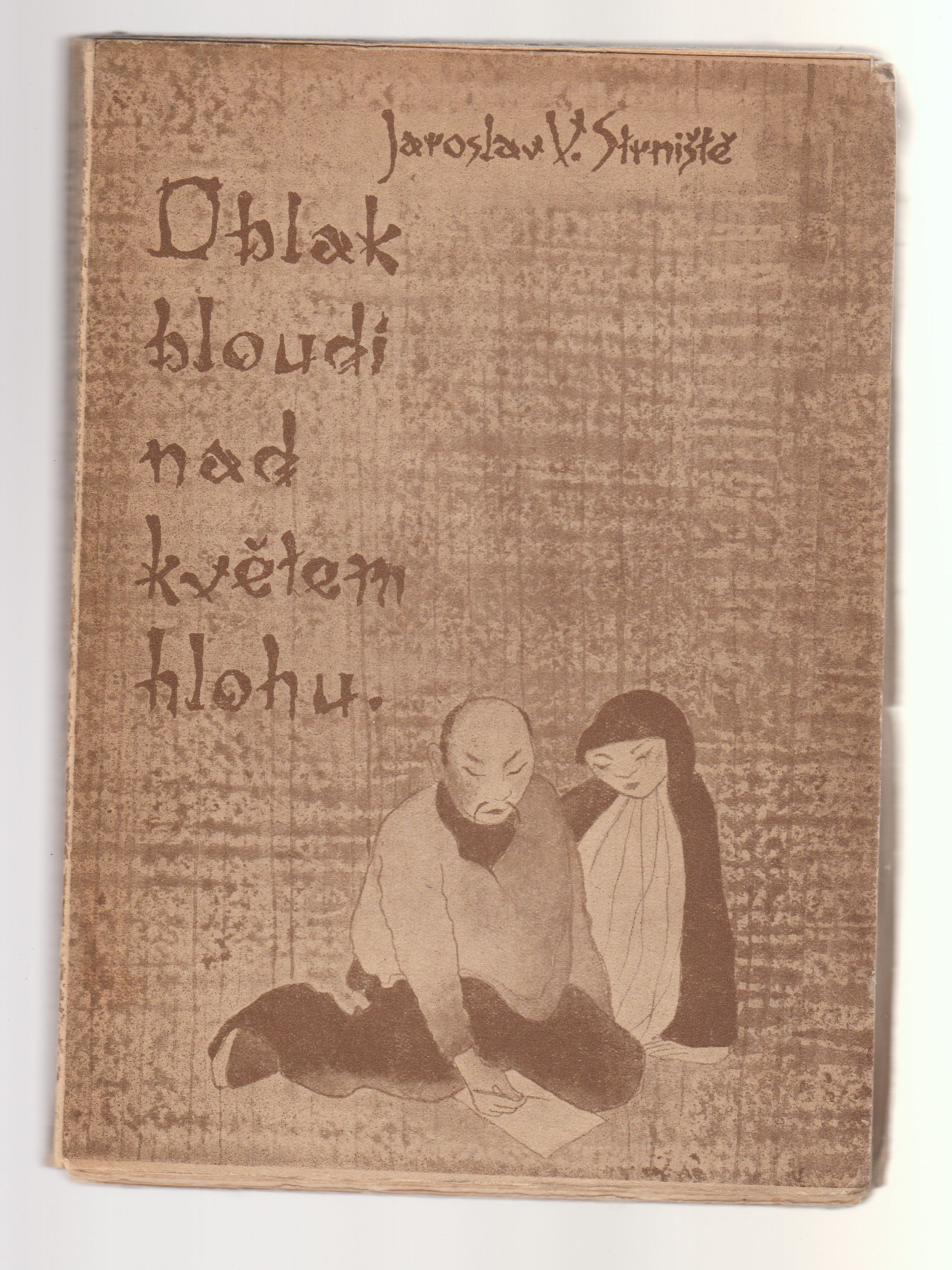 Oblak bloudí nad květem hlohu - Jaroslav V. Strniště