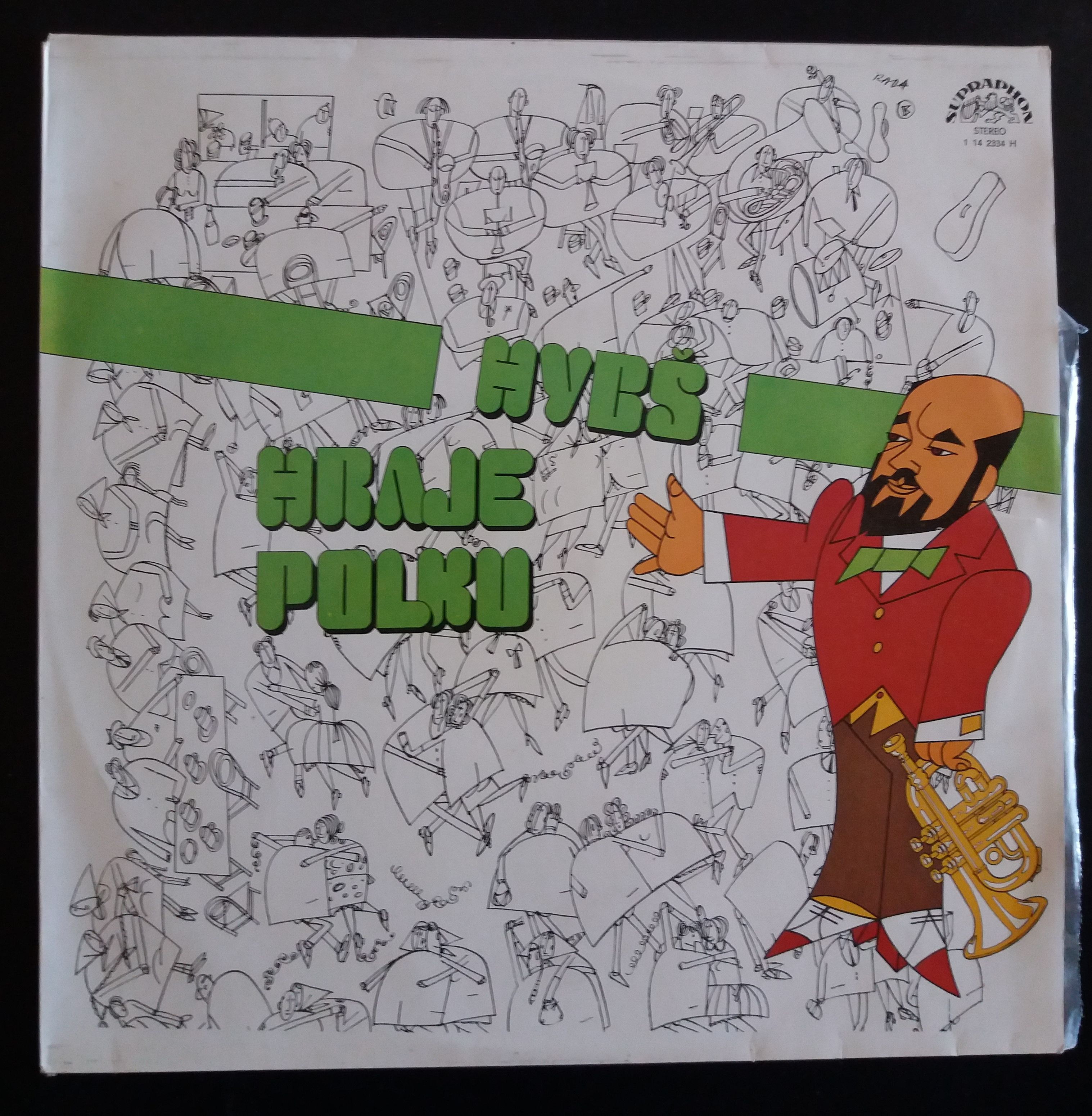 Hybš hraje polku (gramodeska, LP)