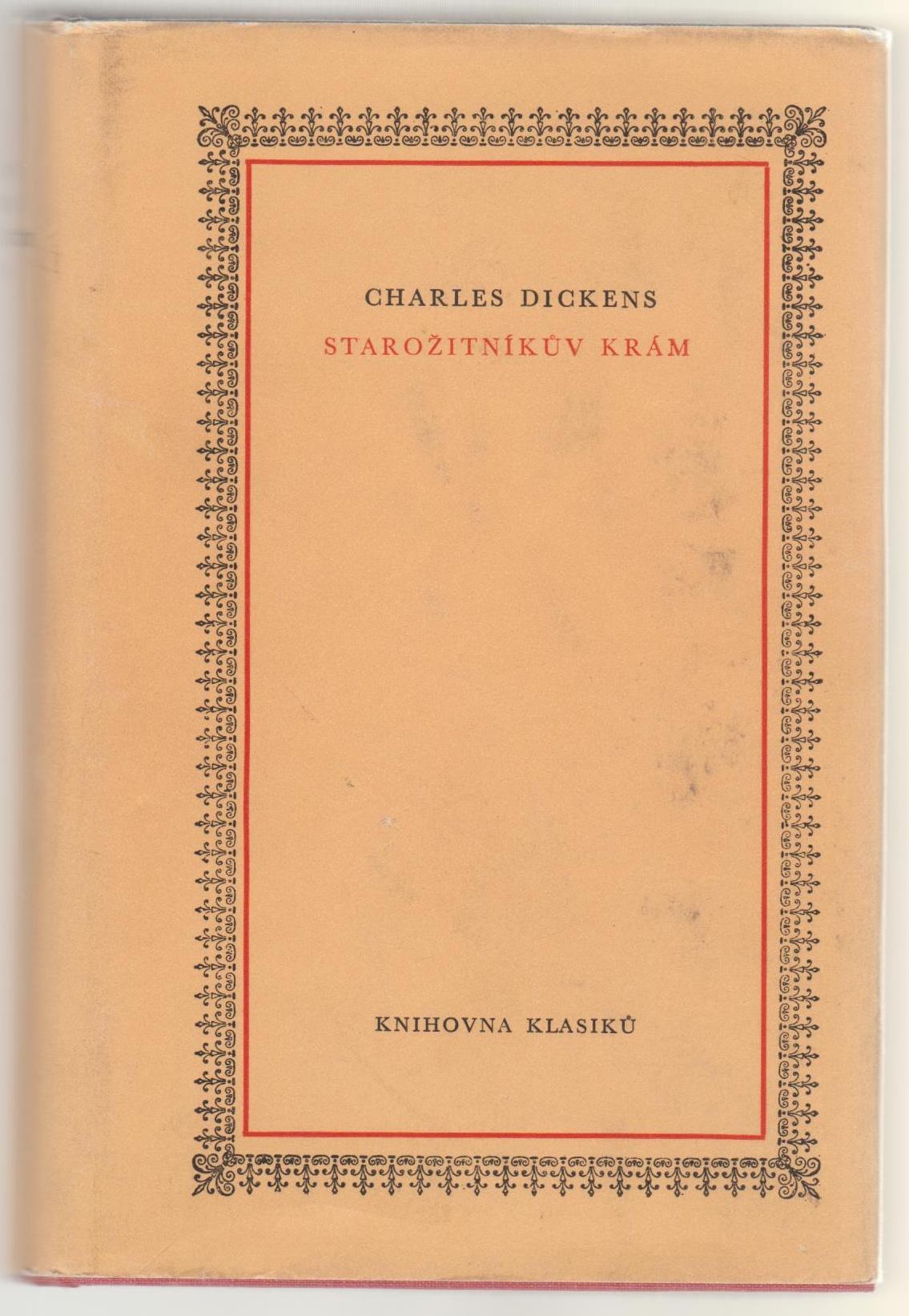 Starožitníkův krám - Charles Dickens