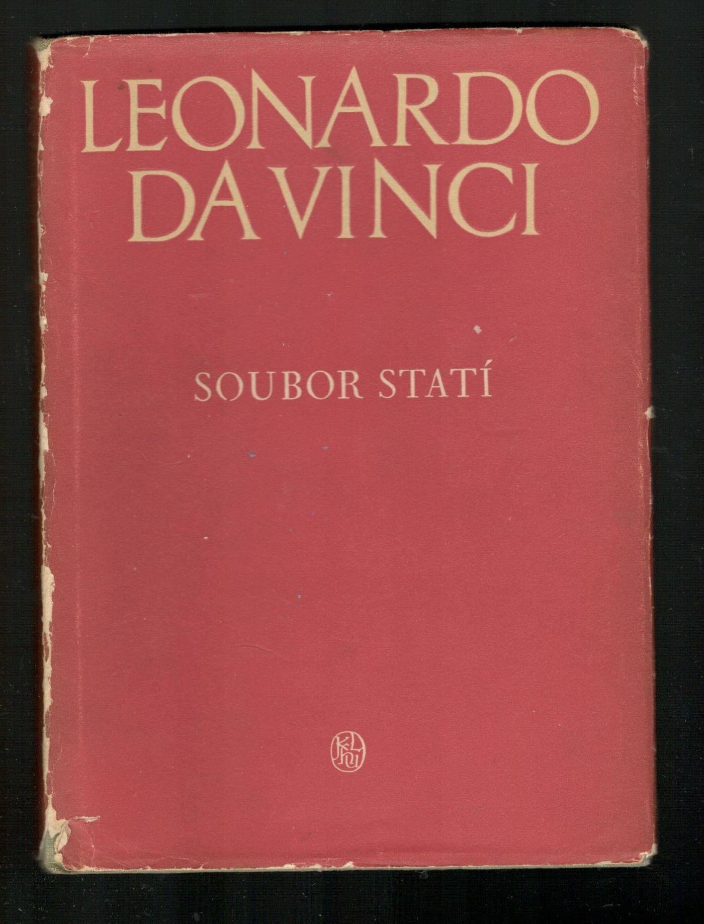 Soubor statí - Leonardo da Vinci