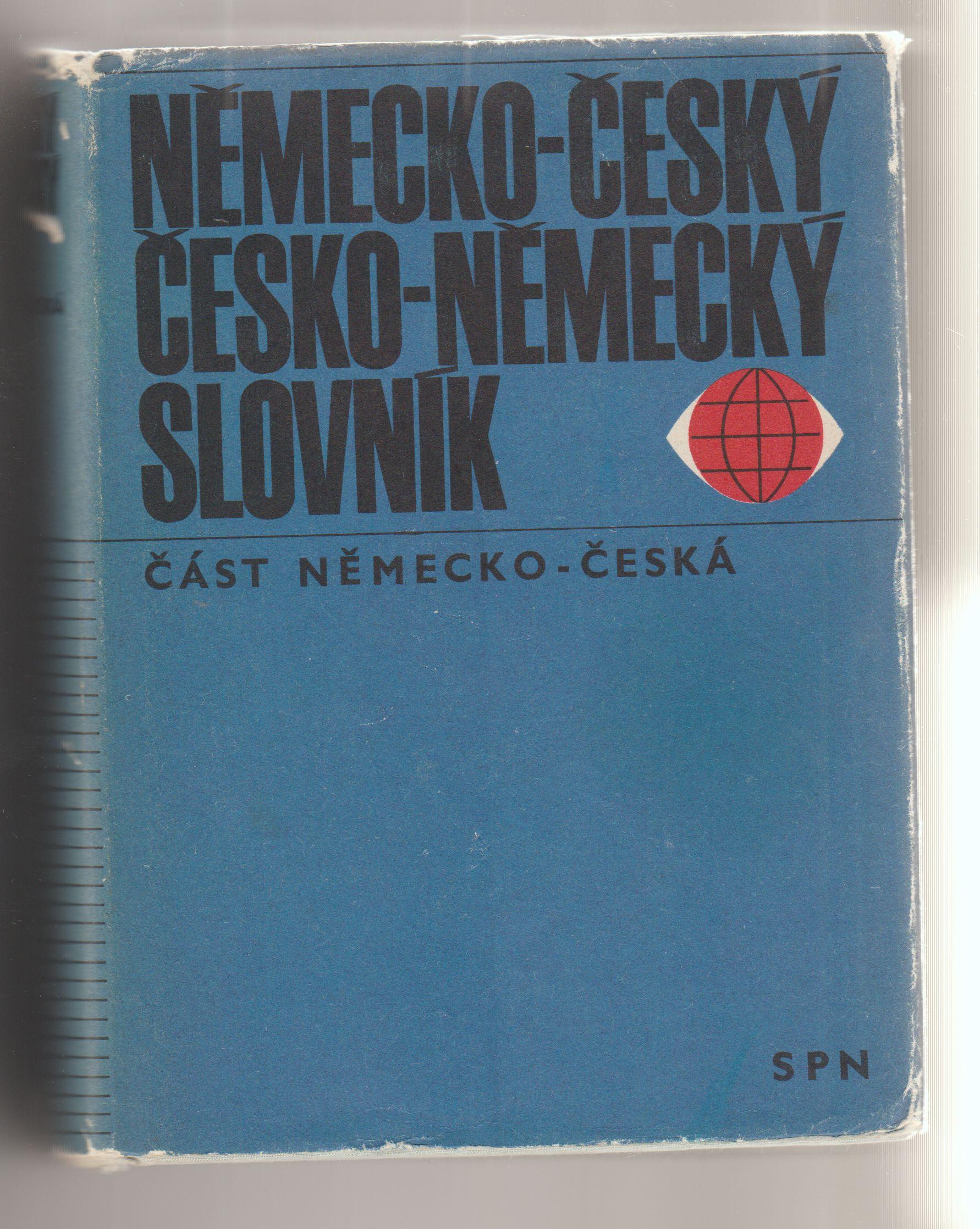 Německo český, česko - německý slovník - František Widimský