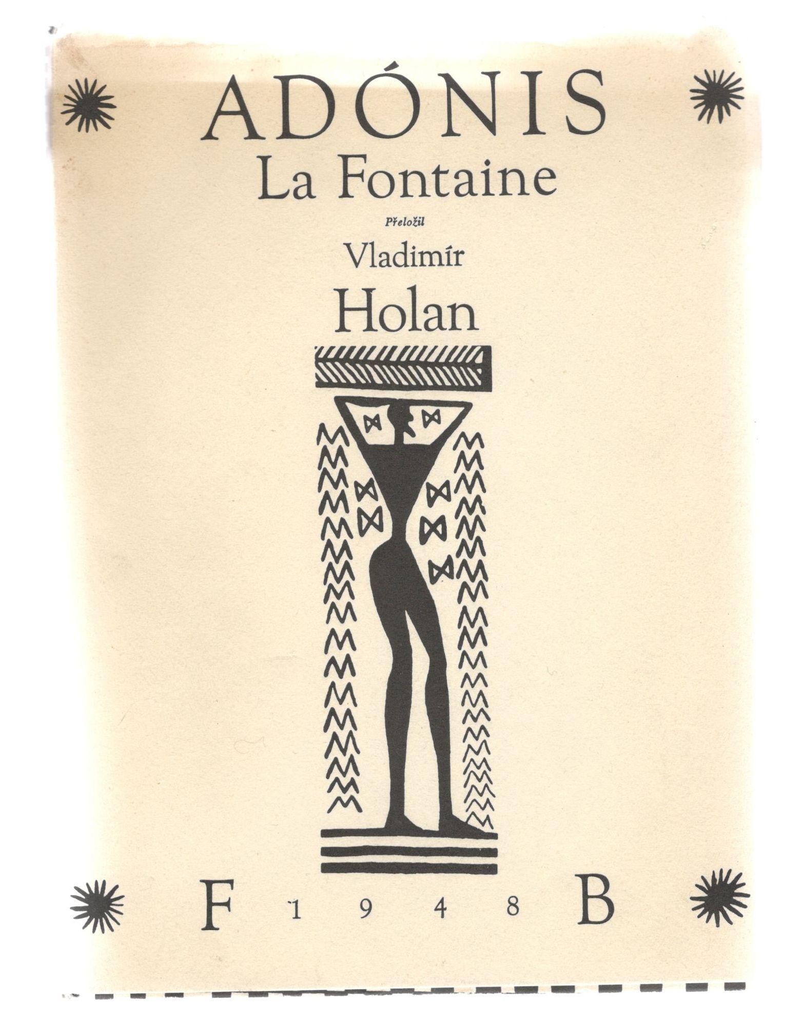 Adónis - La Fontaine