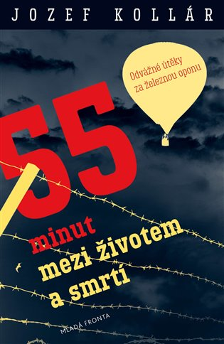 55 minut mezi životem a smrtí - Odvážné útěky za železnou oponu - Jozef Kollár