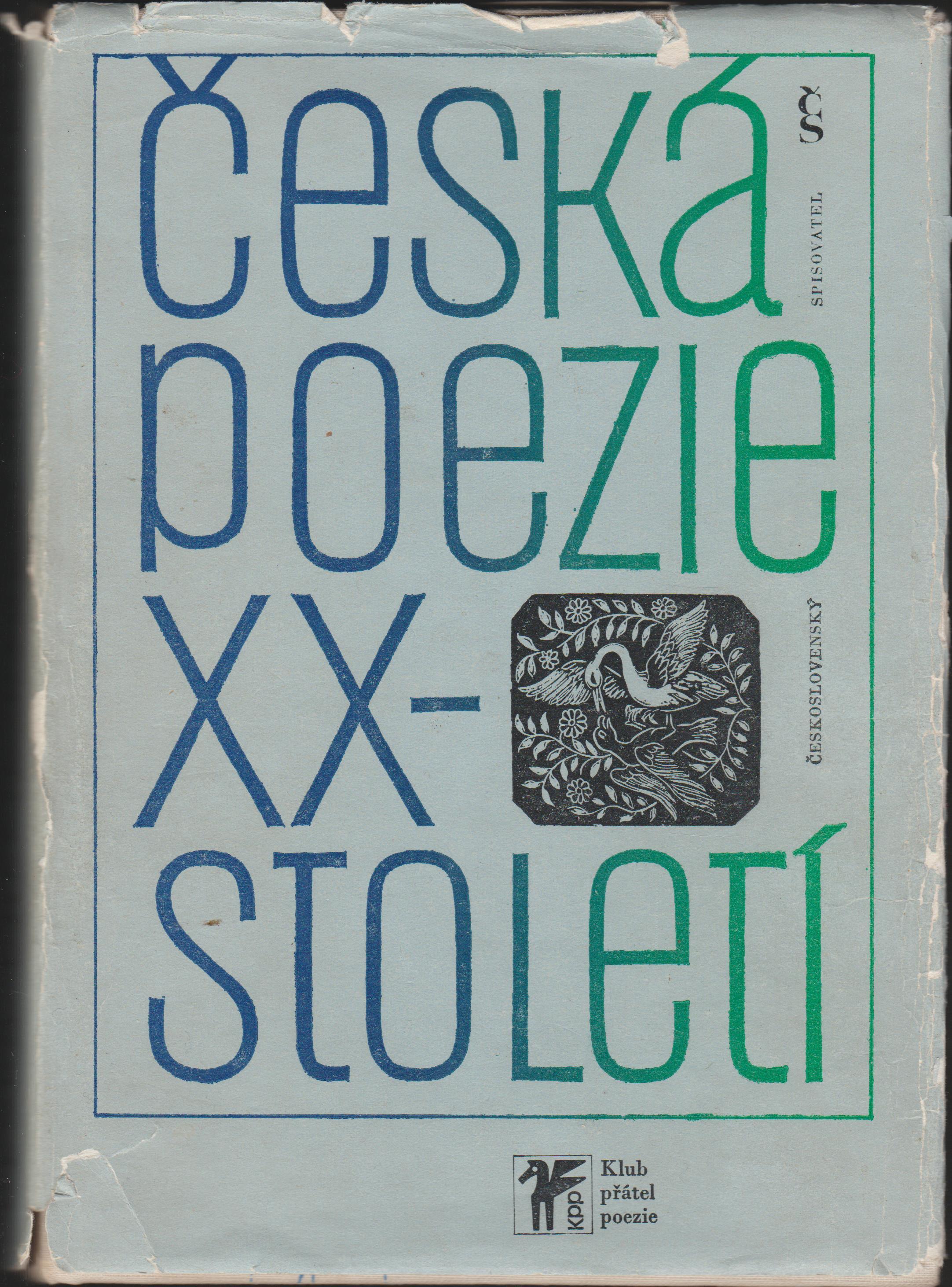 Česká poezie 20. století - Milan Blahynka
