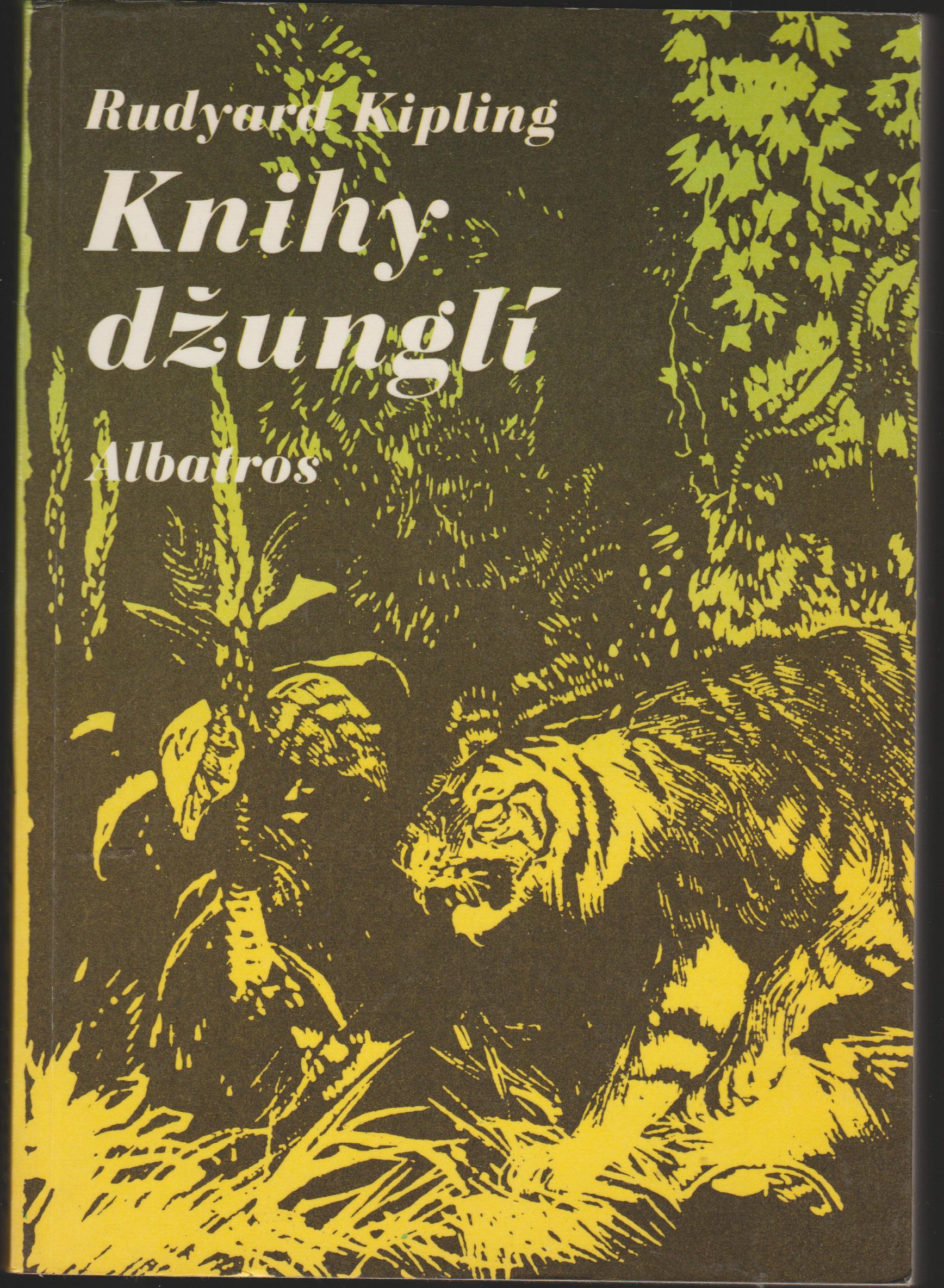 knihy džunglí - Rudyard Kippling