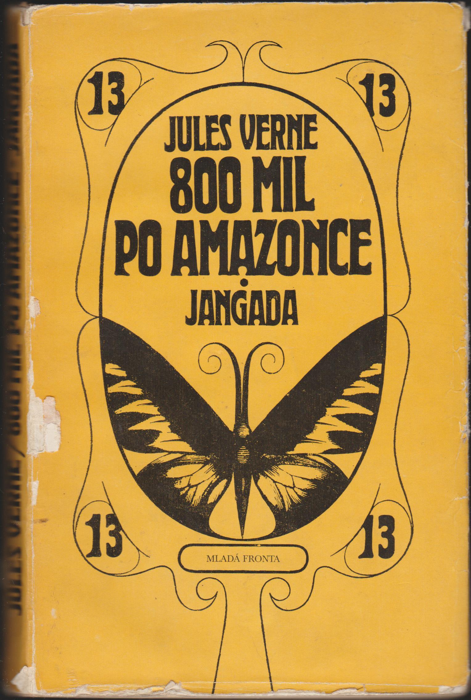 800 mil po Amazonce Jangada - Jules Verne