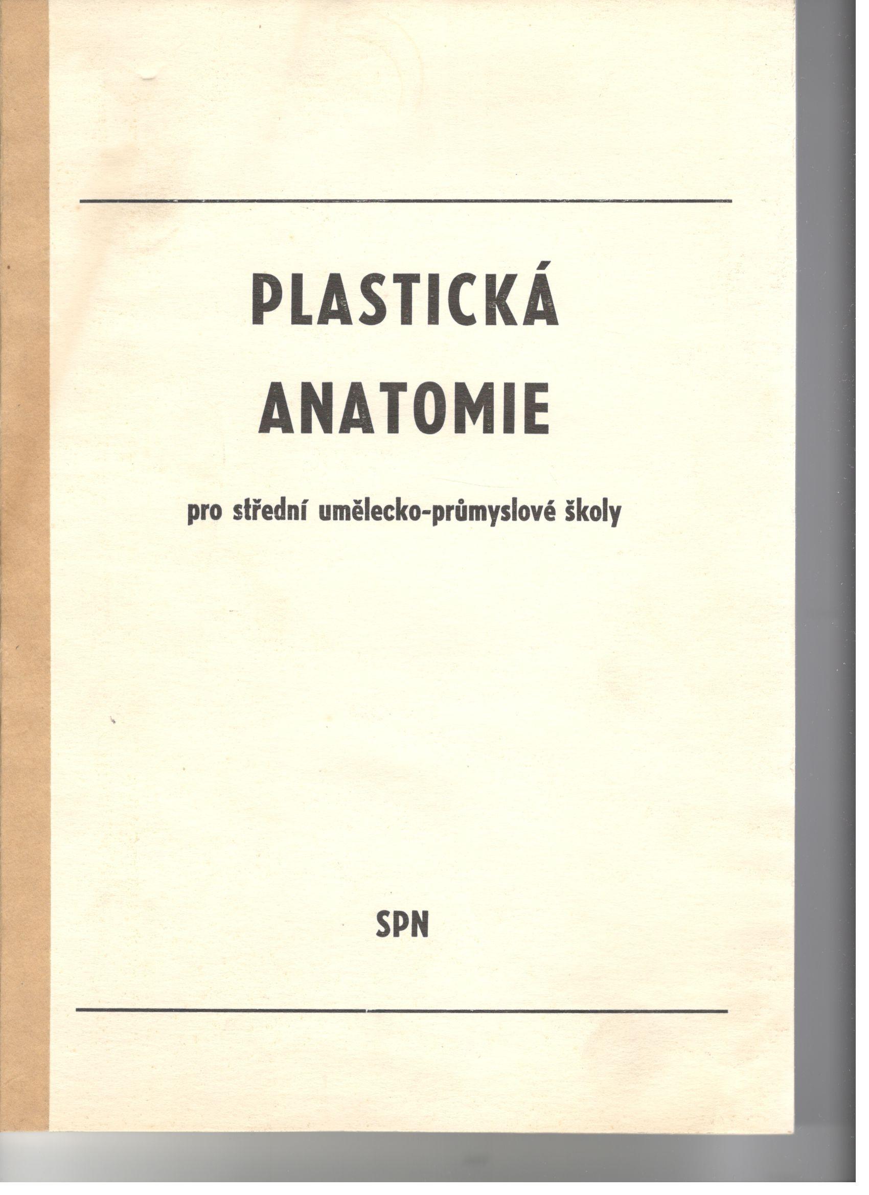 Plastická anatomie pro střední umělecko-průmyslové školy - Josef Kalfus