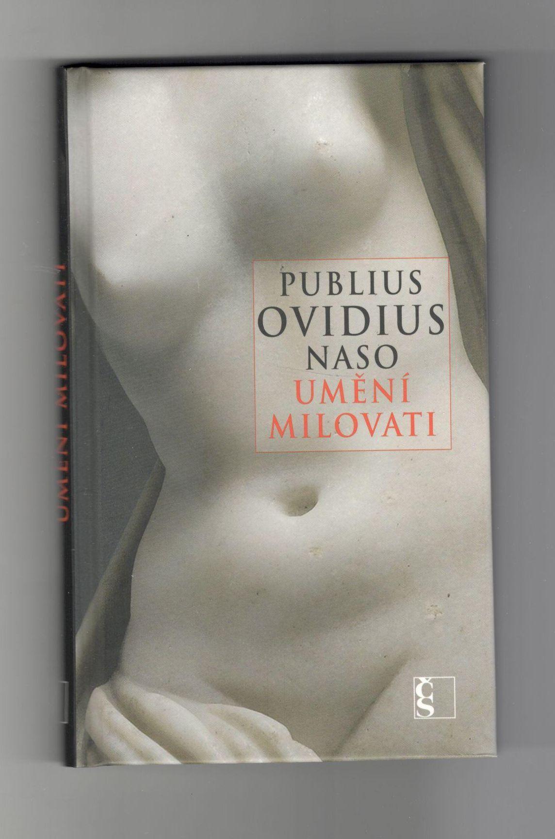 Umění milovat - Publius Ovidius Naso