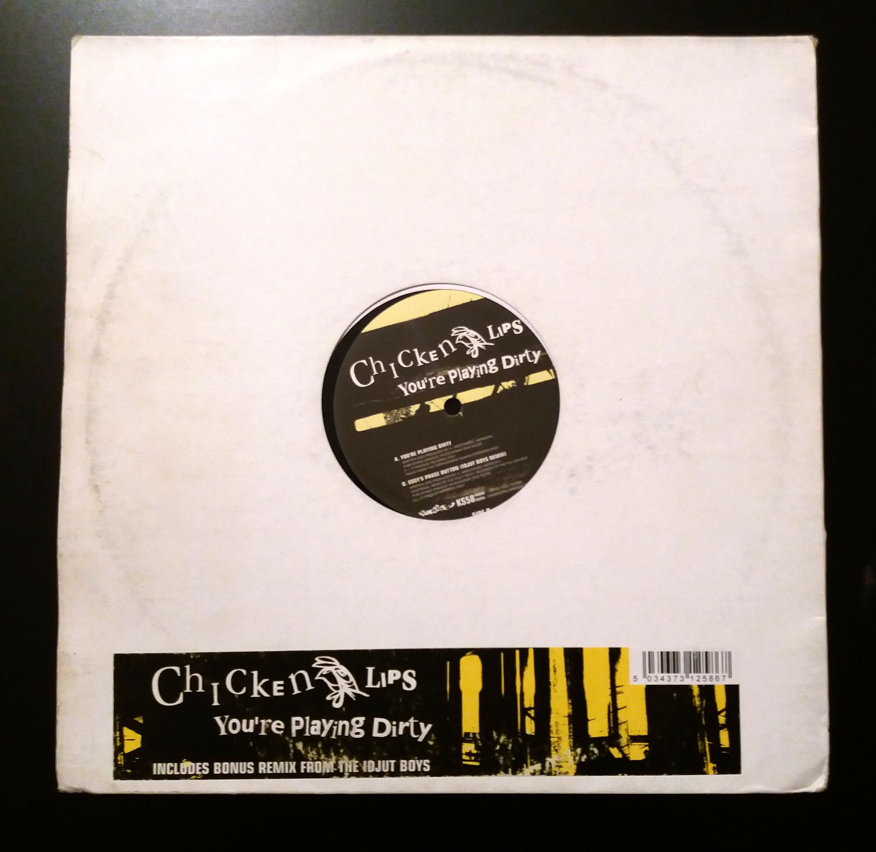 Chicken Lips - Your Playing Dirty (LP, gramodeska)