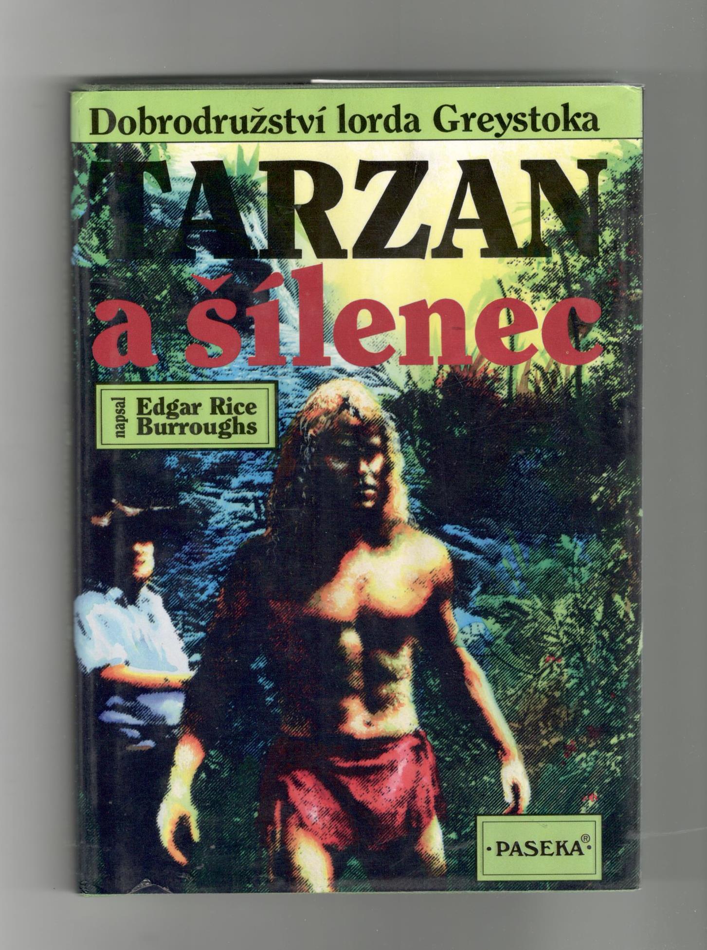 Tarzan a šílenec - Edgar Rice Burroughs