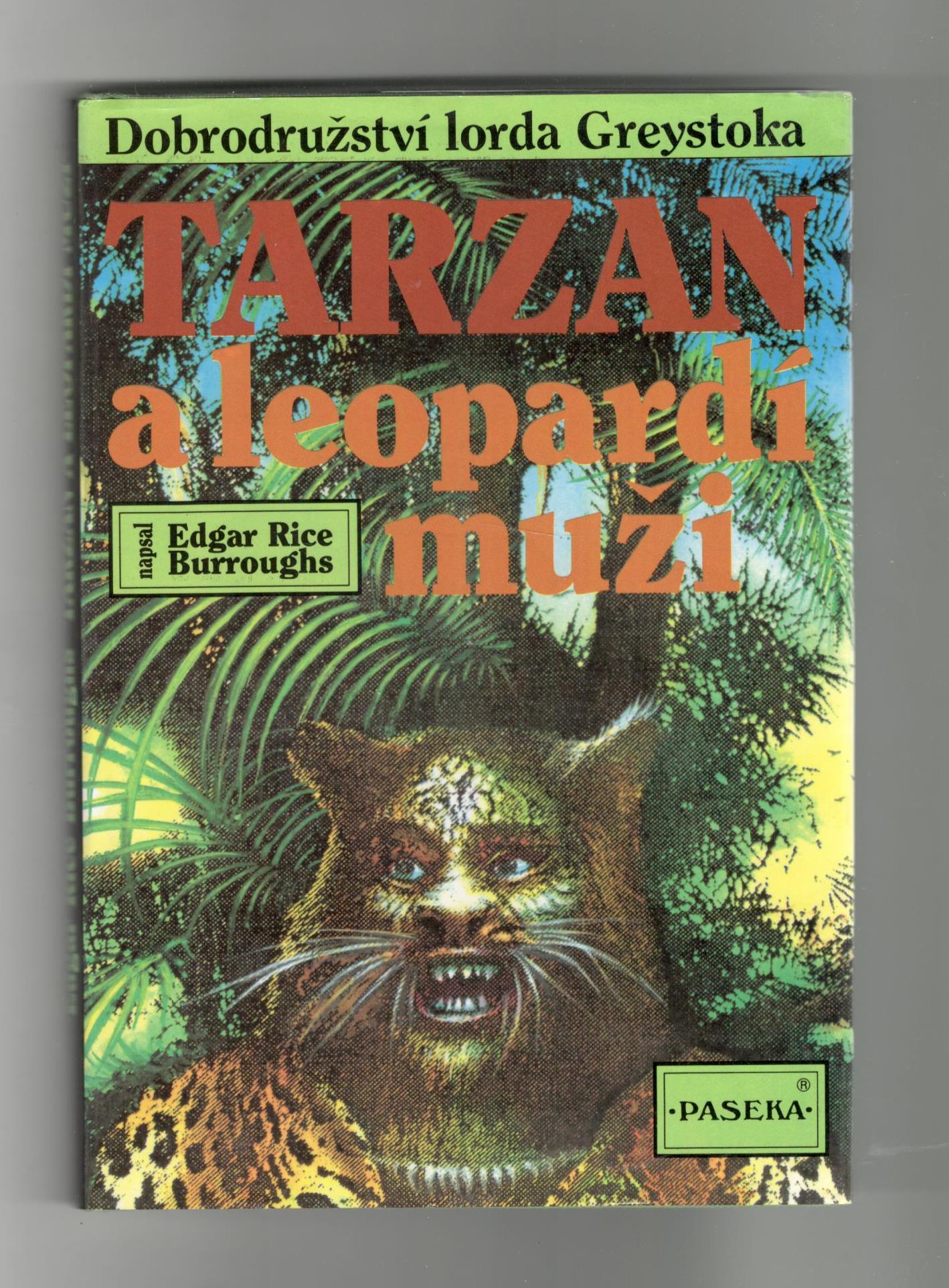 Tarzan a leopardí muži - Edgar Rice Burroughs