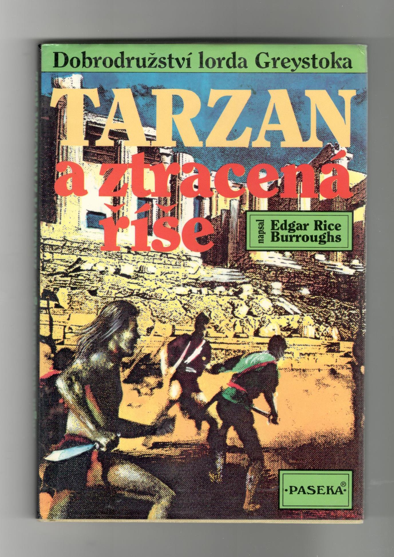Tarzan a ztracená říše - Edgar Rice Burroughs