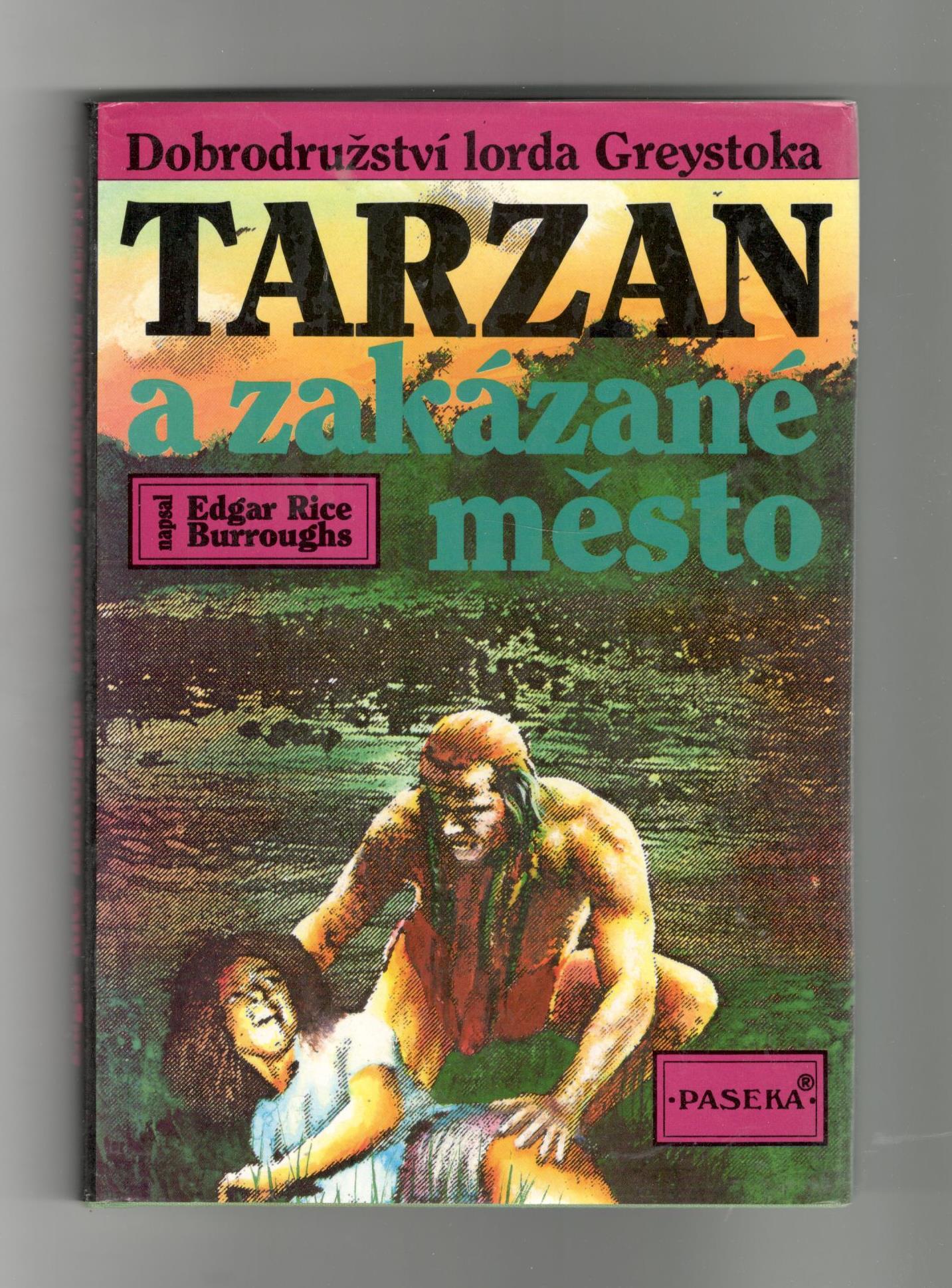 Tarzan a zakázané město - Edgar Rice Burroughs