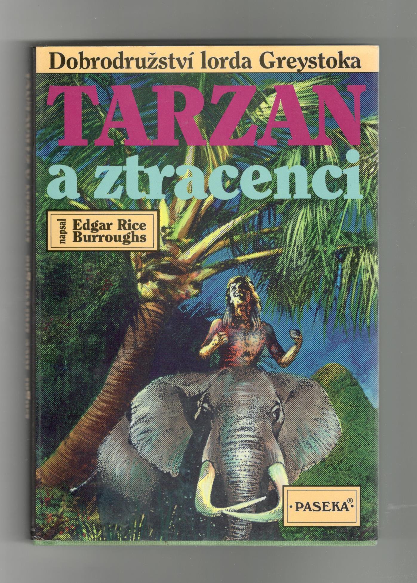 Tarzan a ztracenci - Edgar Rice Burroughs