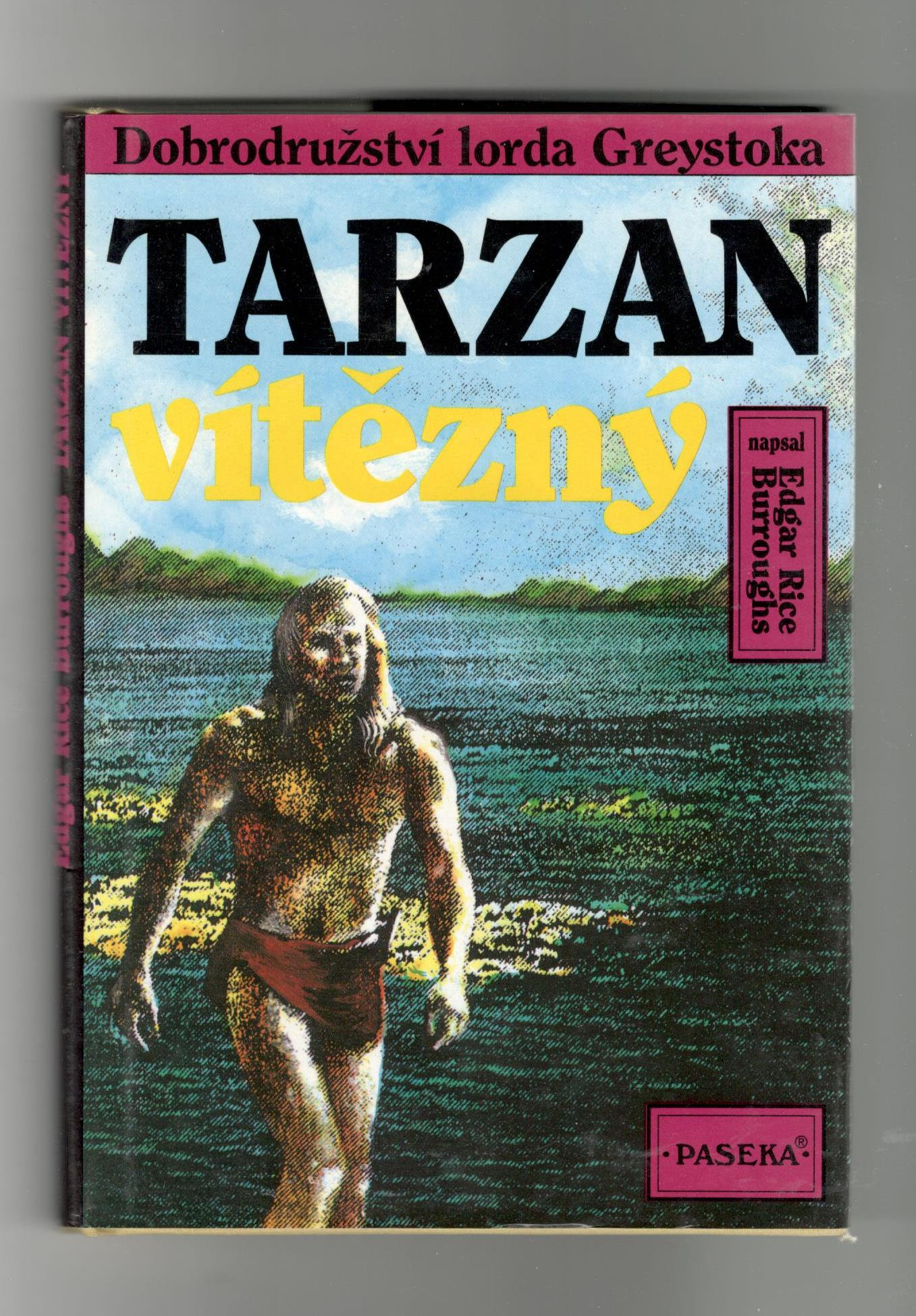 Tarzan vítězný - Edgar Rice Burroughs