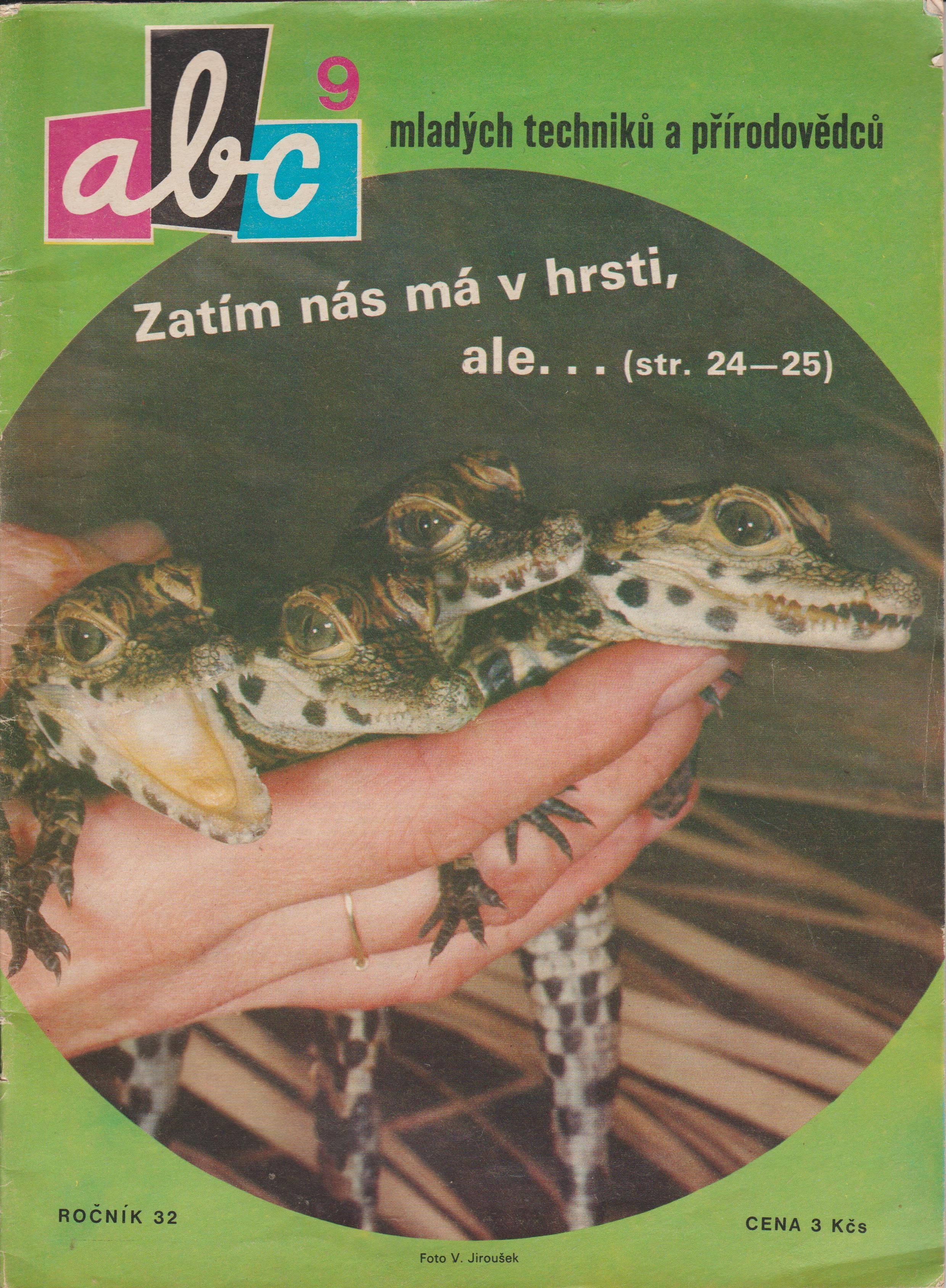 ABC časopis mladých techniků a přírodovědců - 32. ročník/9. číslo