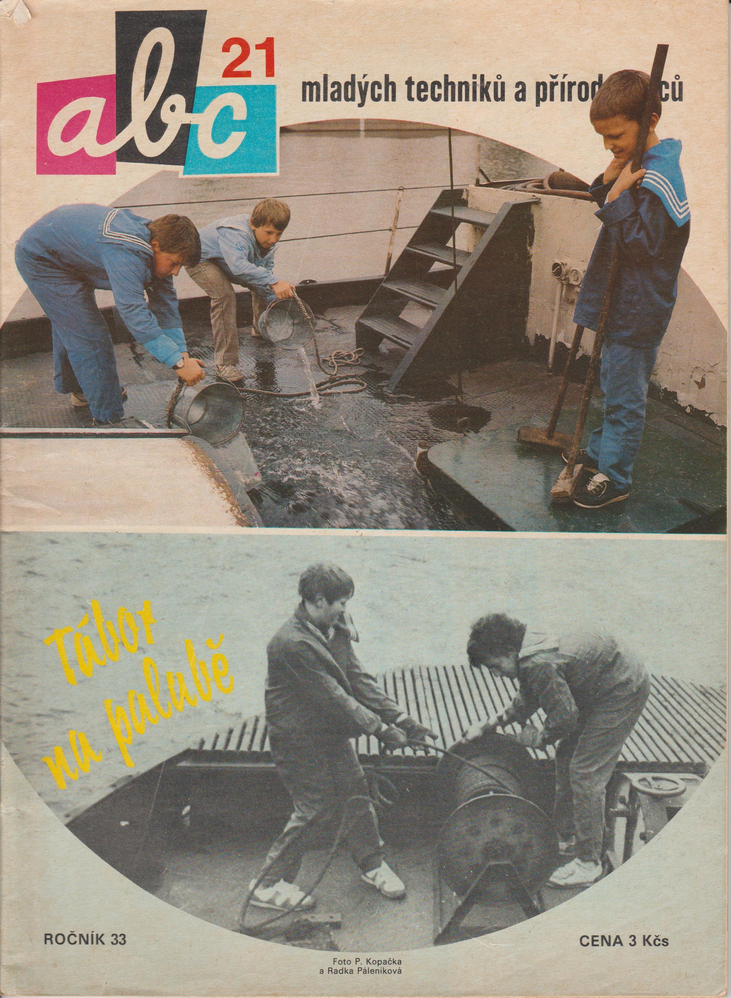 ABC časopis mladých techniků a přírodovědců - 33. ročník/21. číslo