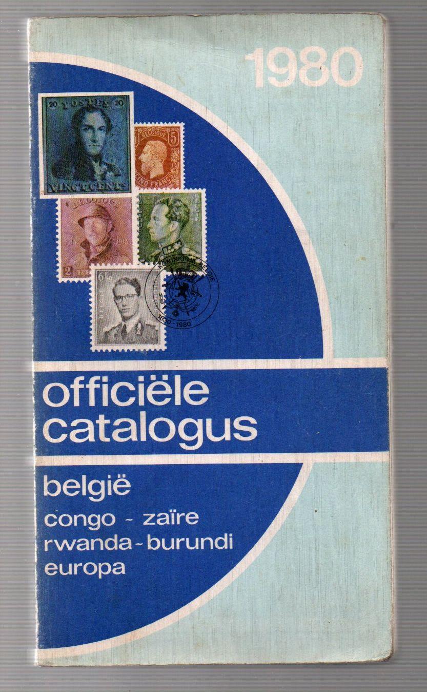 Officiële catalogus - België - 1980 (holandsky)