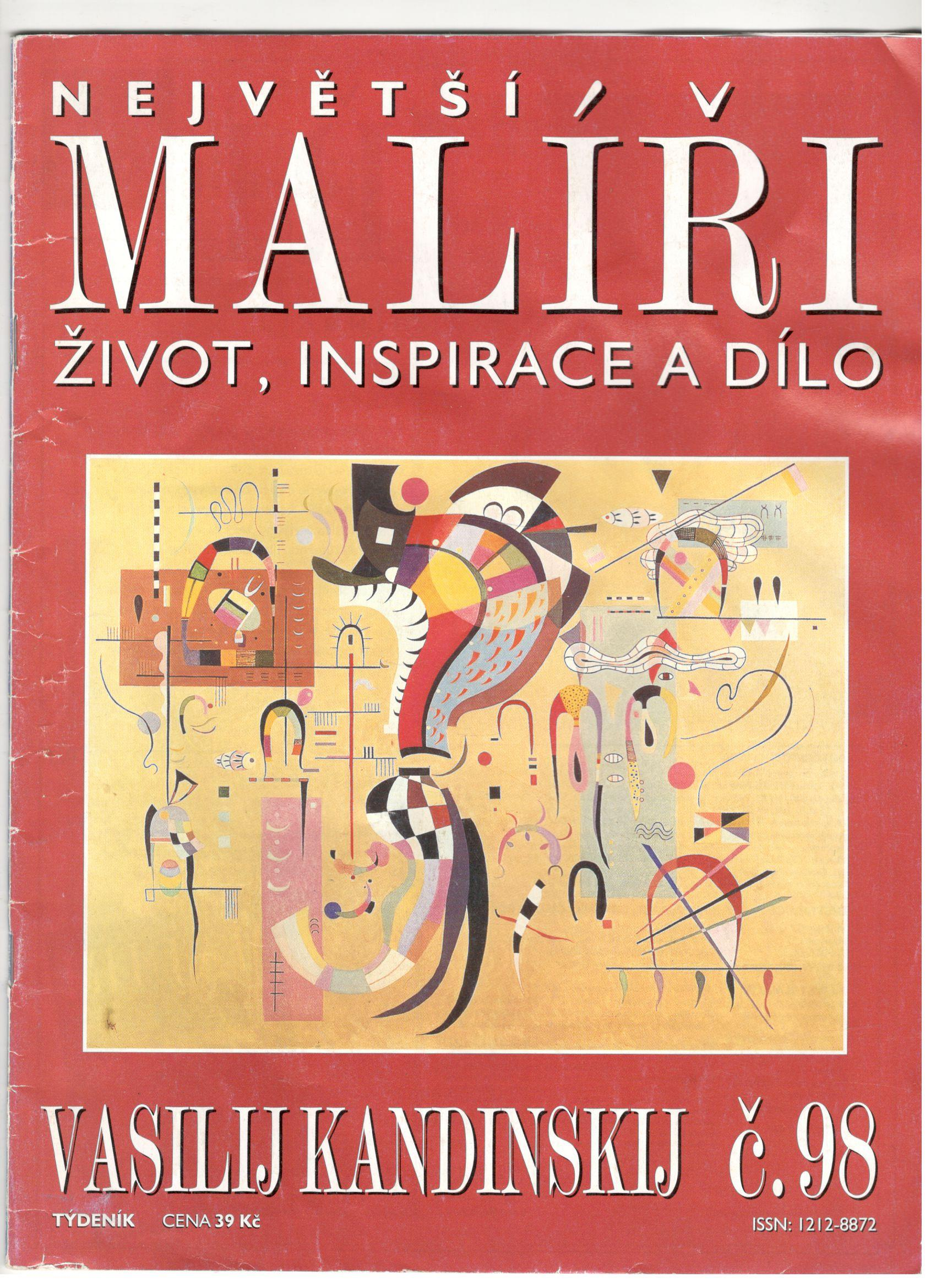 Největší malíři, život, inspirace a dílo - Vasilij Kandinskij (č. 98)