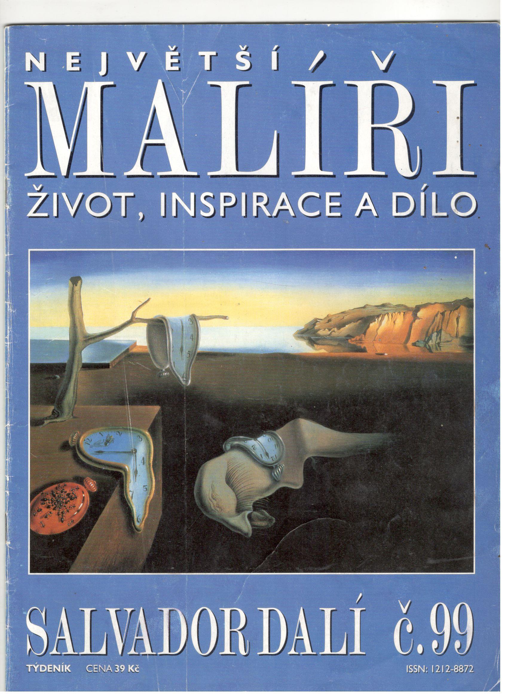 Největší malíři, život, inspirace a dílo - Salvador Dalí (č. 99)