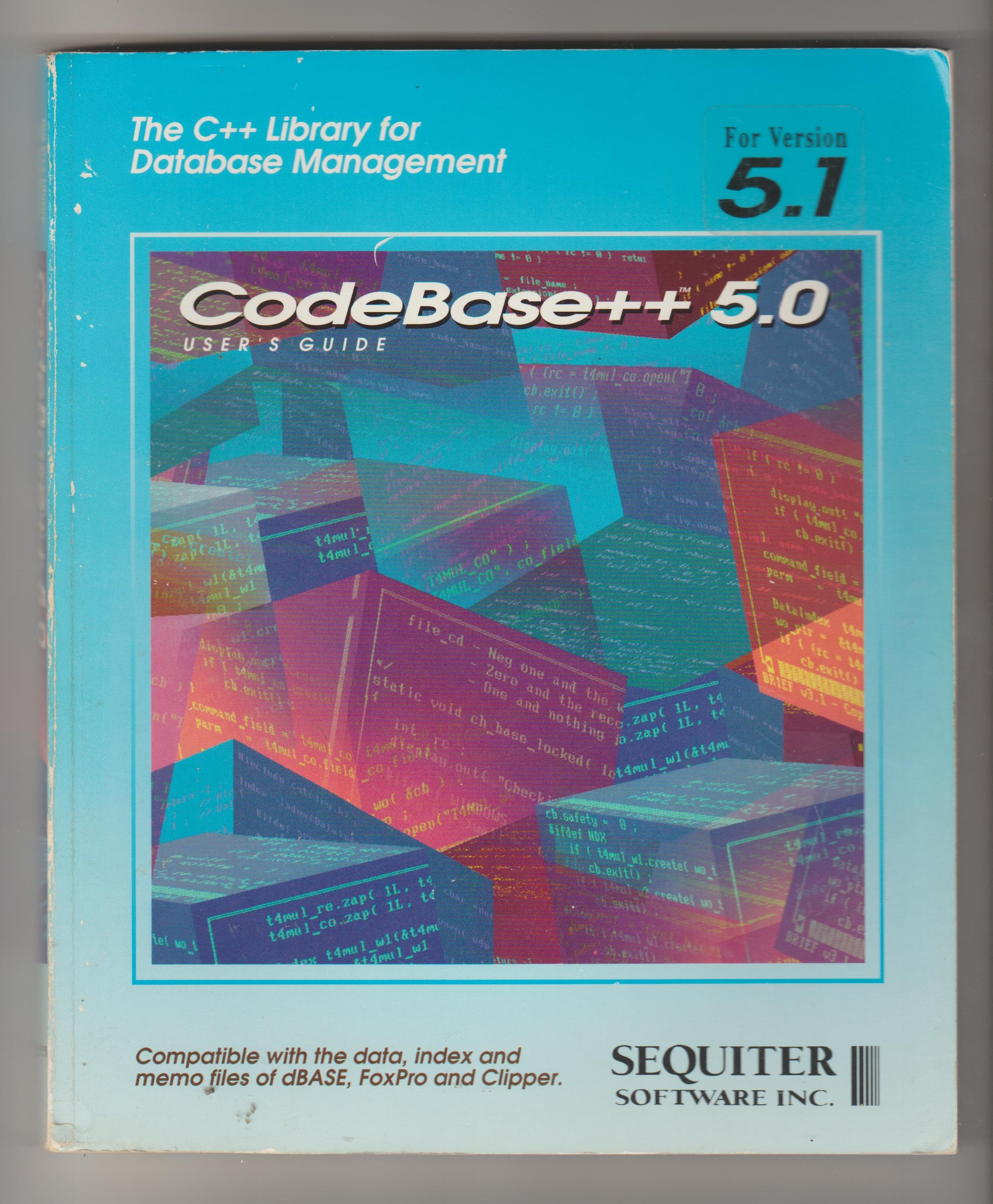 CodeBase++ 5.0 user's guide, the C++ Library for Database Management, for version 5.1 (anglicky)