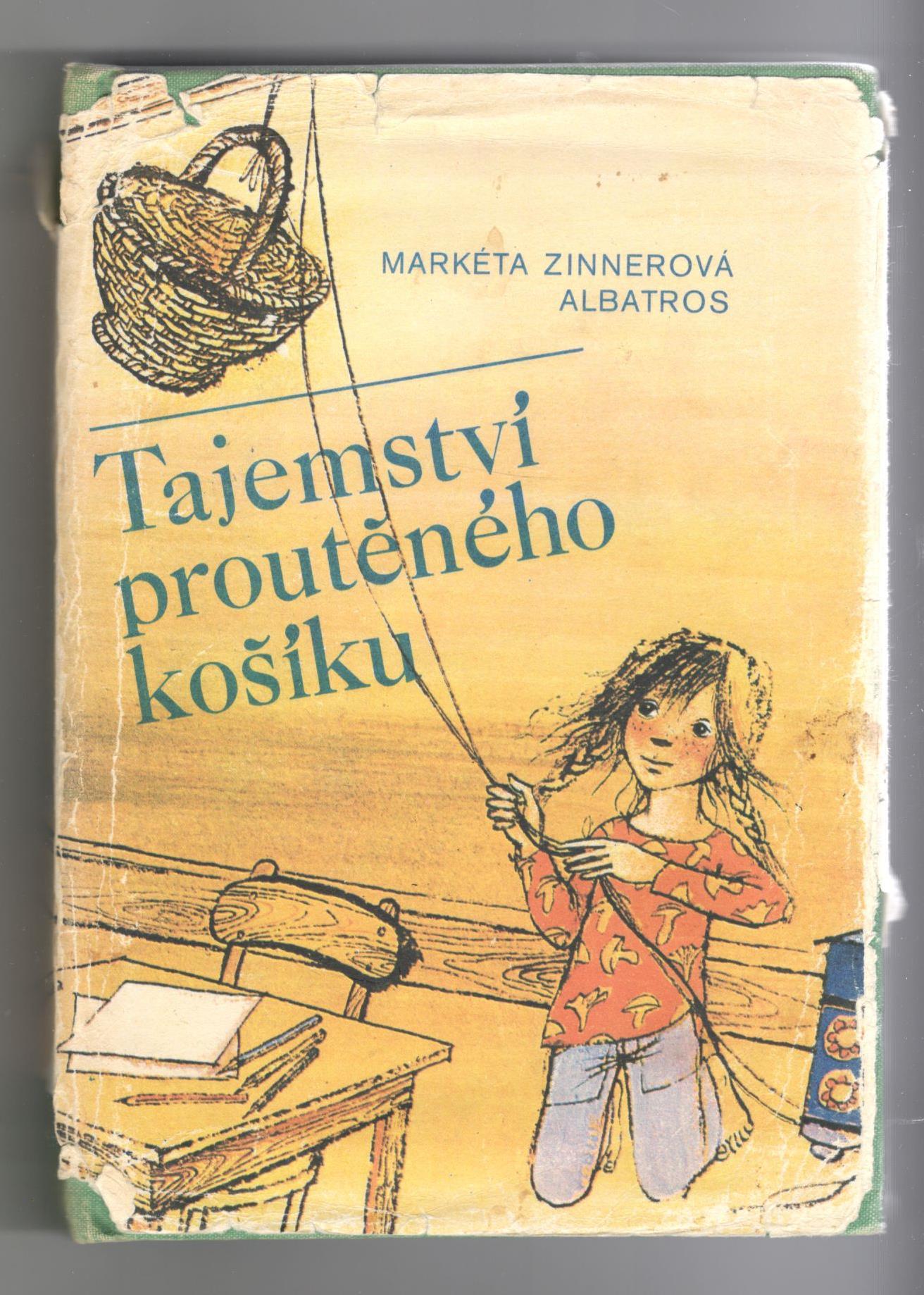 Tajemství proutěného košíku - Markéta Zinnerová