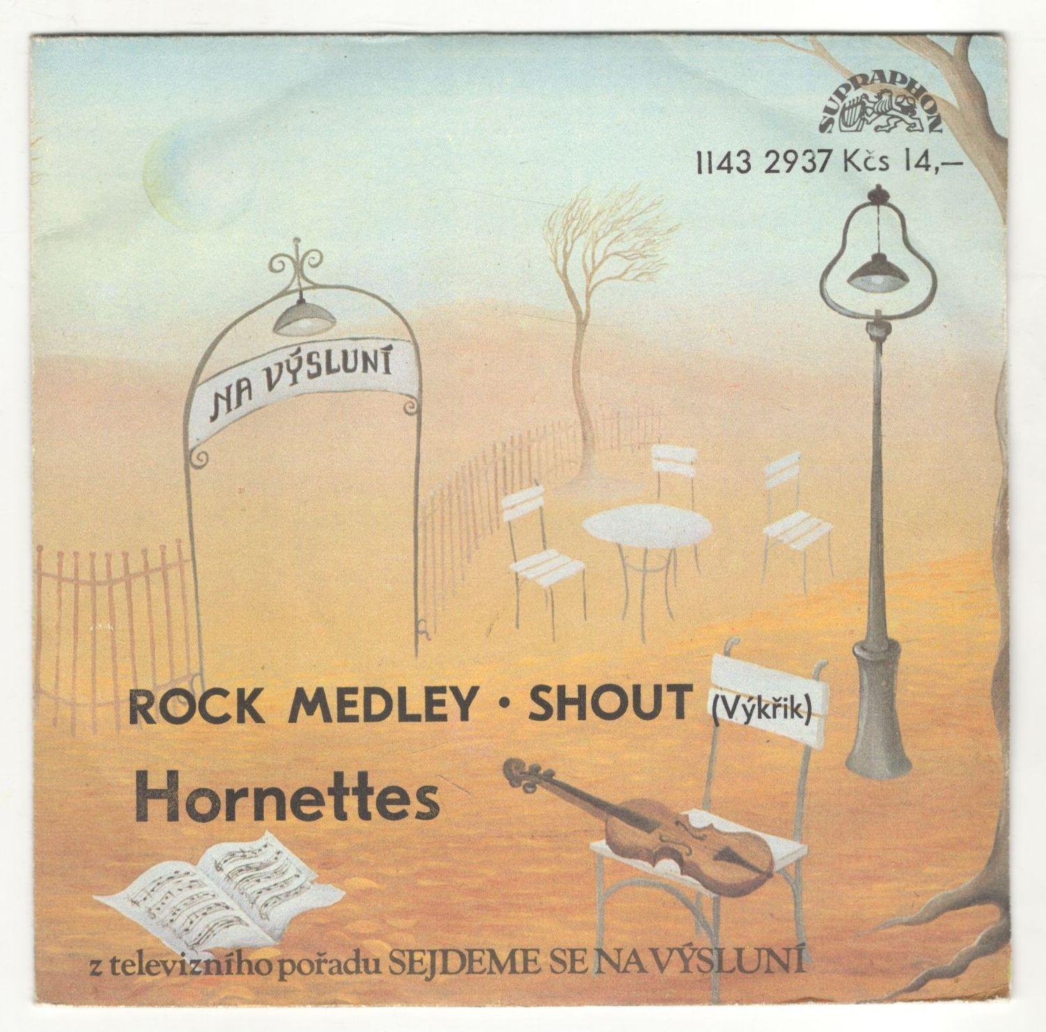 Rock Medley • Shout (Výkřik) - Hornettes (SP)