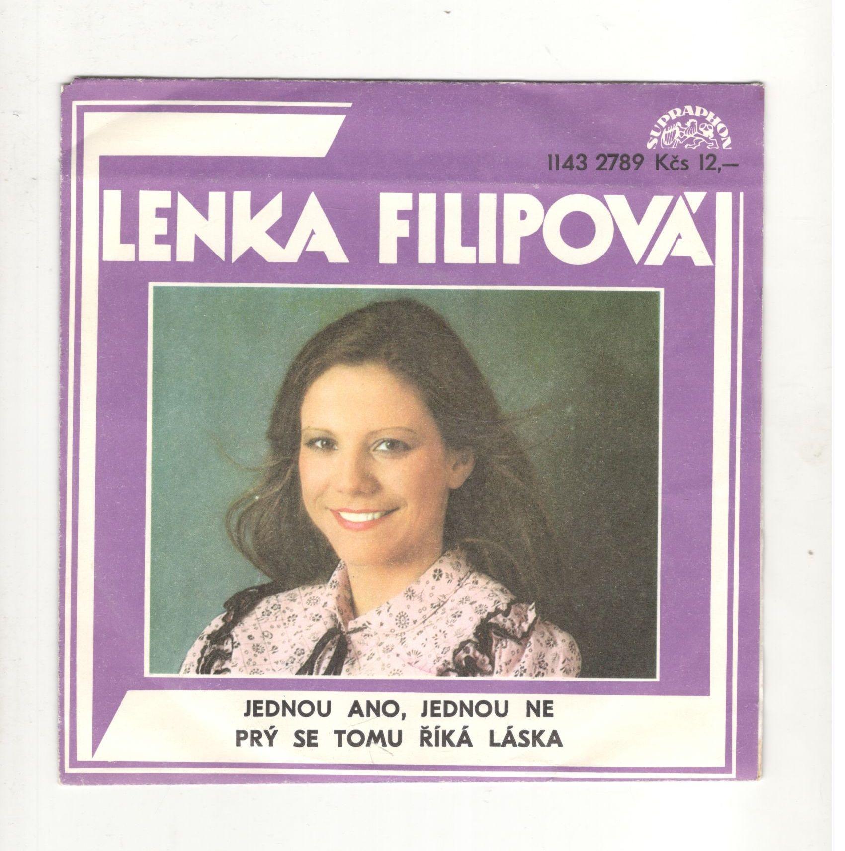 Jednou ano, jednou ne, Prý se tomu říká láska - Lenka Filipová (SP)
