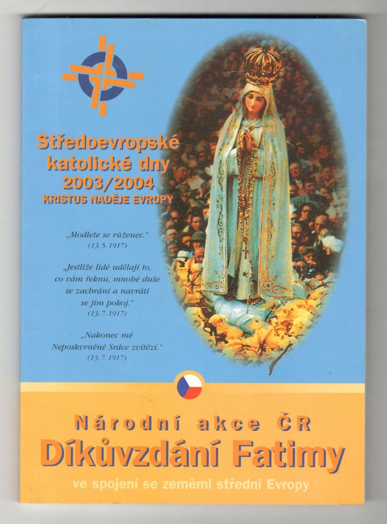 Středoevropské katolické dny 2003/2004