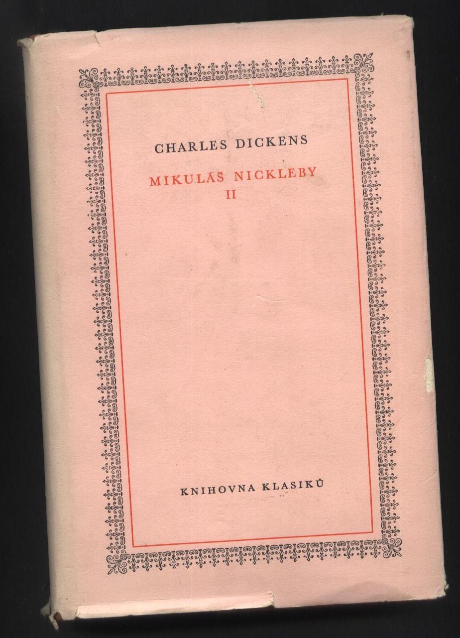 Mikuláš Nickleby II - Charles Dickens
