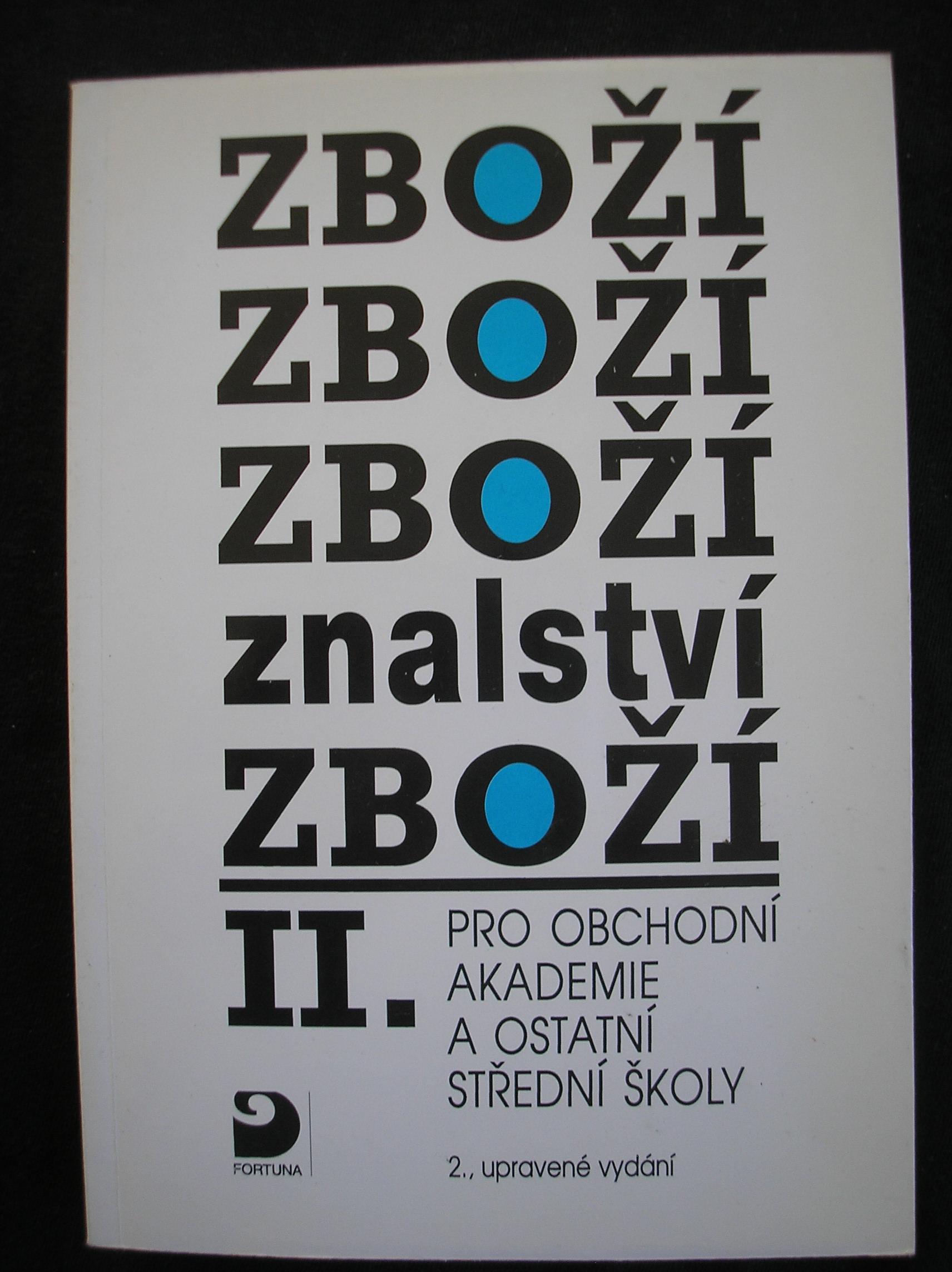Zboží znalství II. - Karel Cvrček a kolektiv
