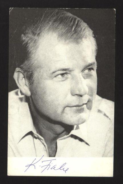 Karel Fiala - fotografie s podpisem