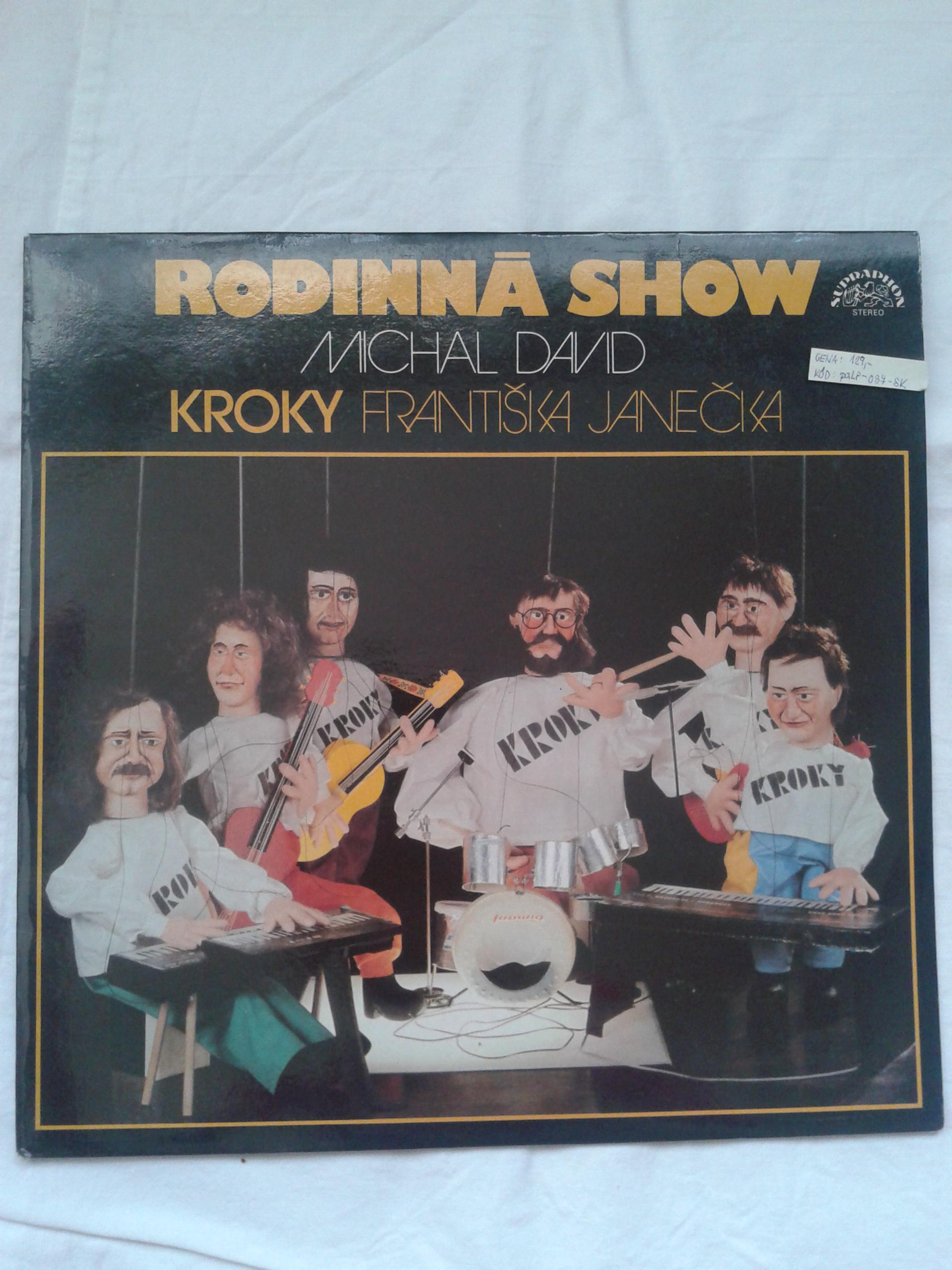 Rodinná show: Michal David a KROKY Františka Janečka (gramodeska)