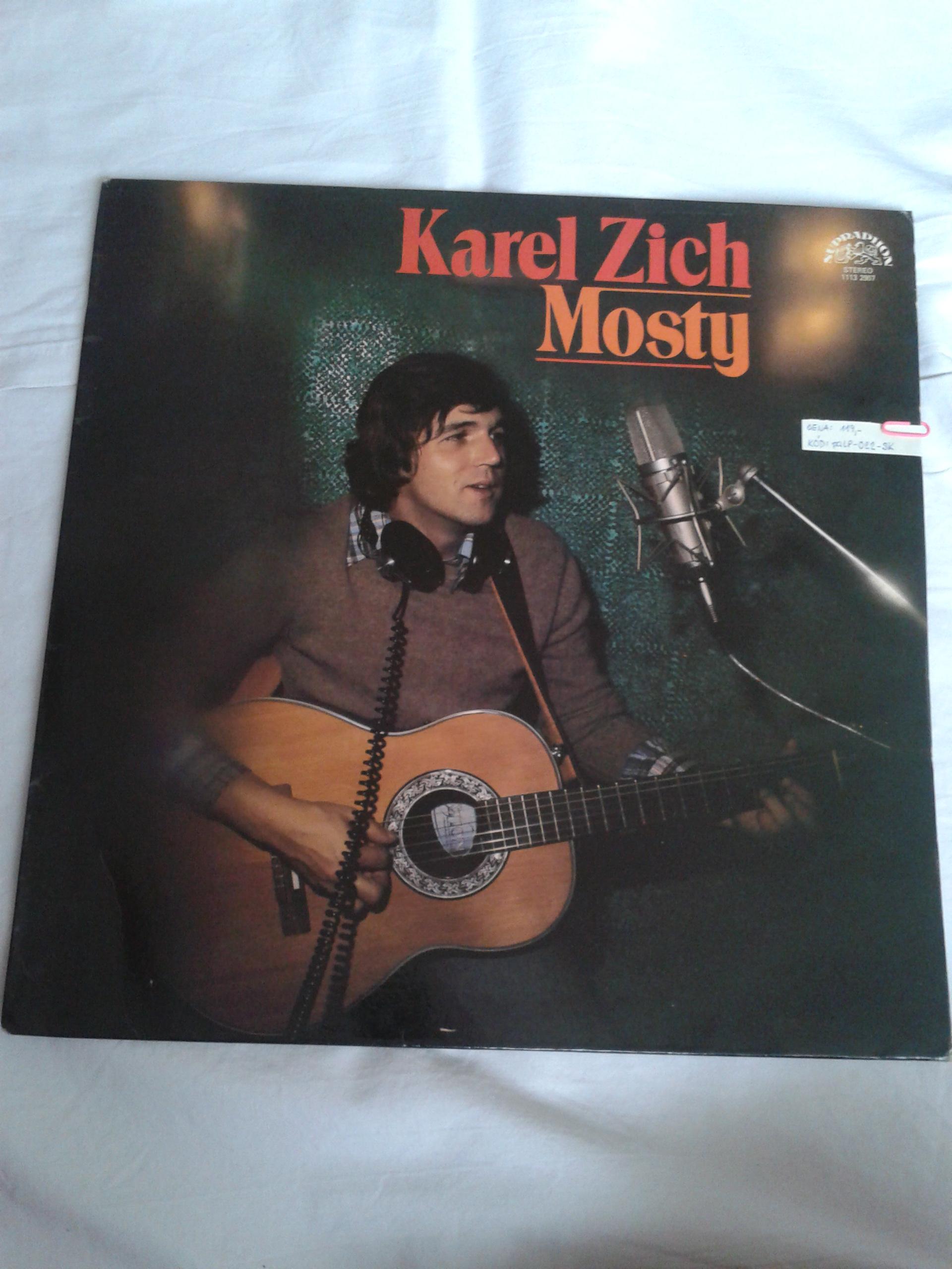 Mosty - Karel Zich (gramodeska)