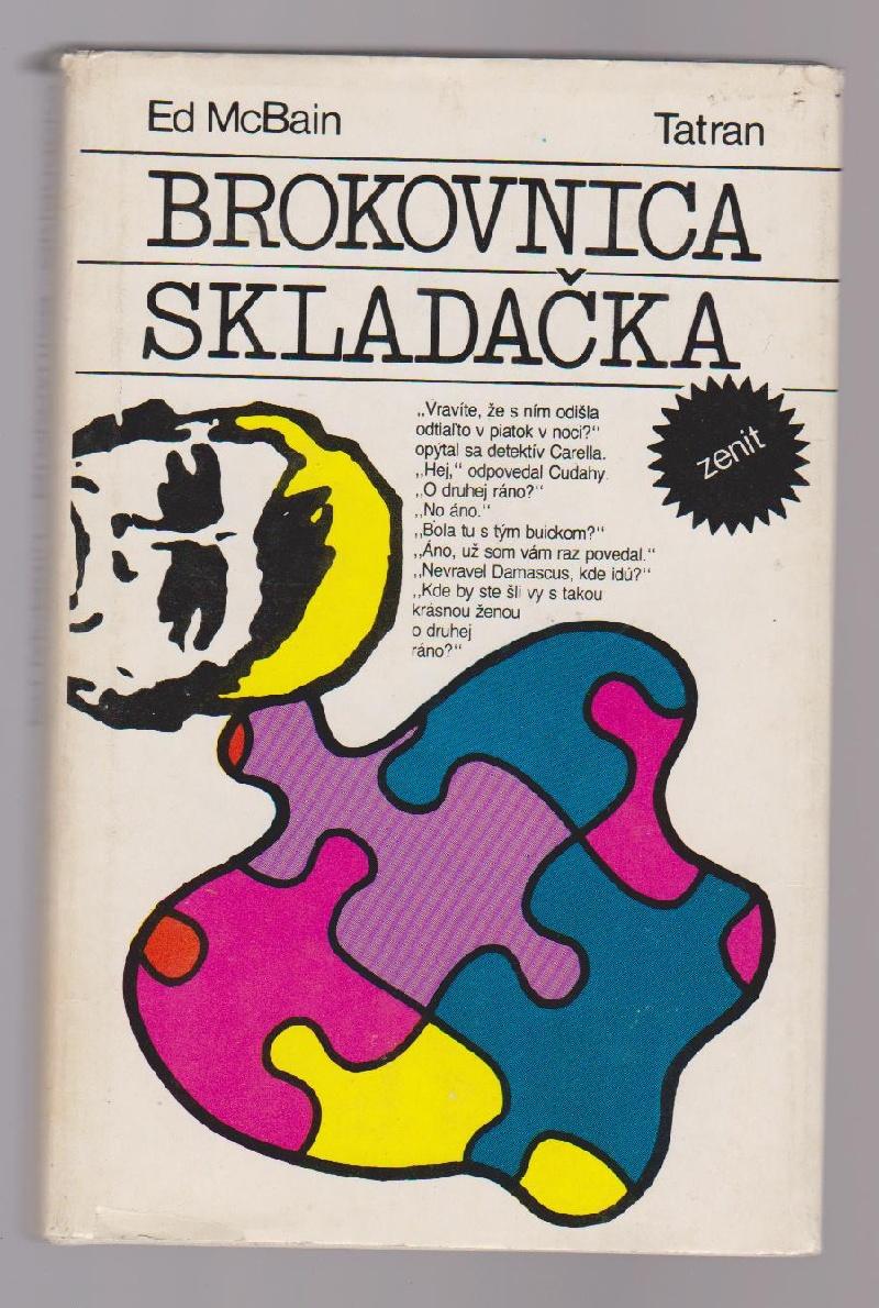 Brokovnice, Skladačka - Ed McBain (slovensky)