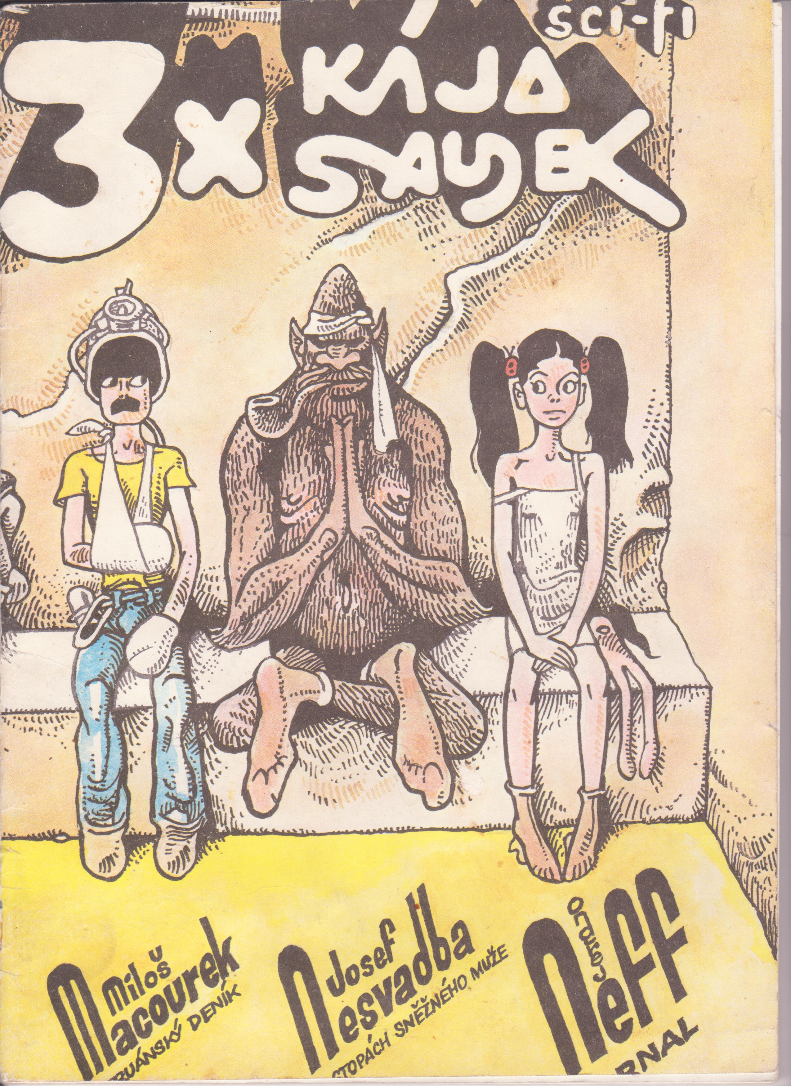 3x Kája Saudek. Peruánský deník, Arnal, Po stopách sněžného muže