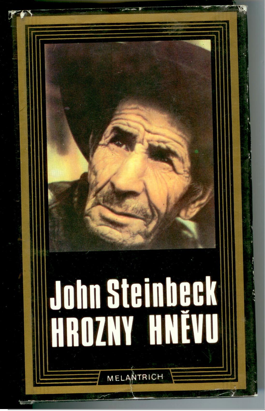 Hrozny hněvu - John Steinbeck