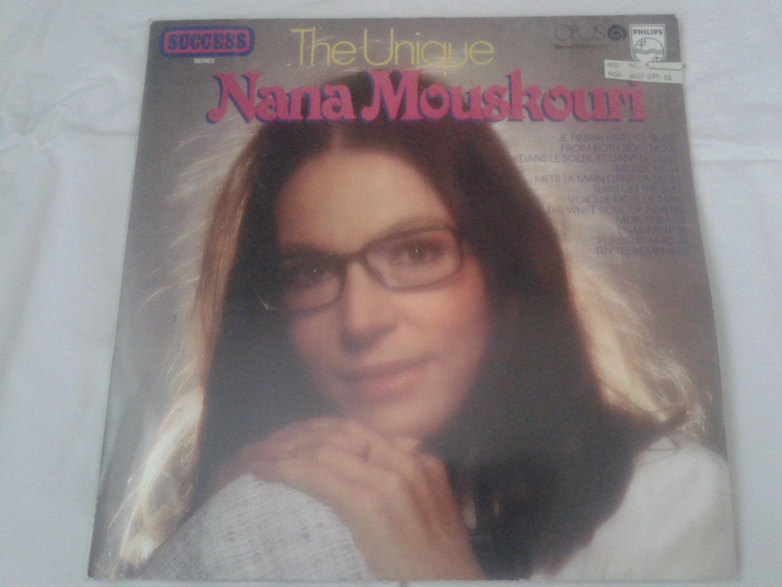 The Unique - Nana Mouskouri (gramodeska)