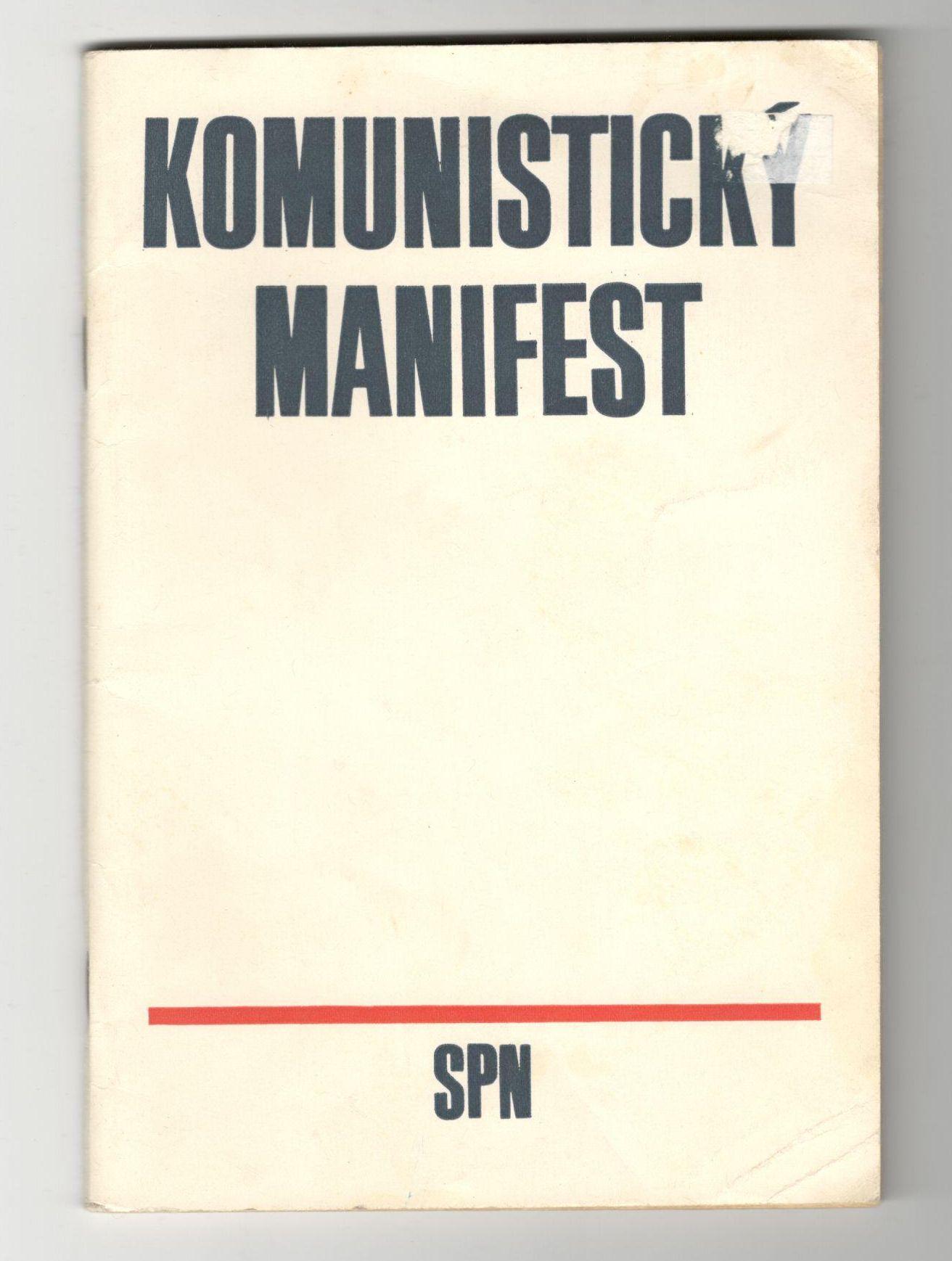 Komunistický manifest - Karel Marx, Bedřich Engels