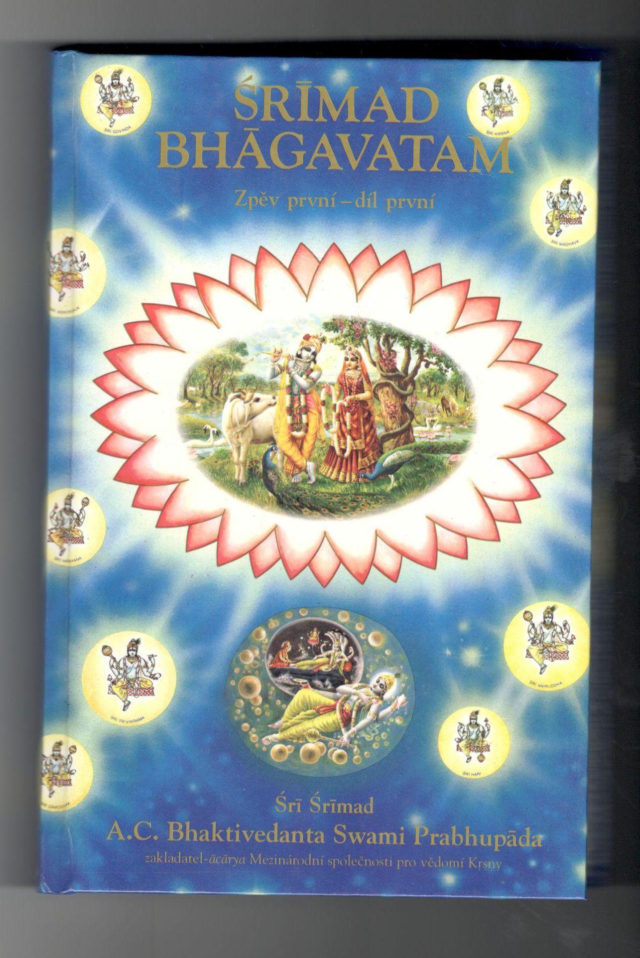 Šrímad Bhágavatam - Šrí Šrímad A. C. Bhaktivedanta Swami Prabhupáda - 3 svazky