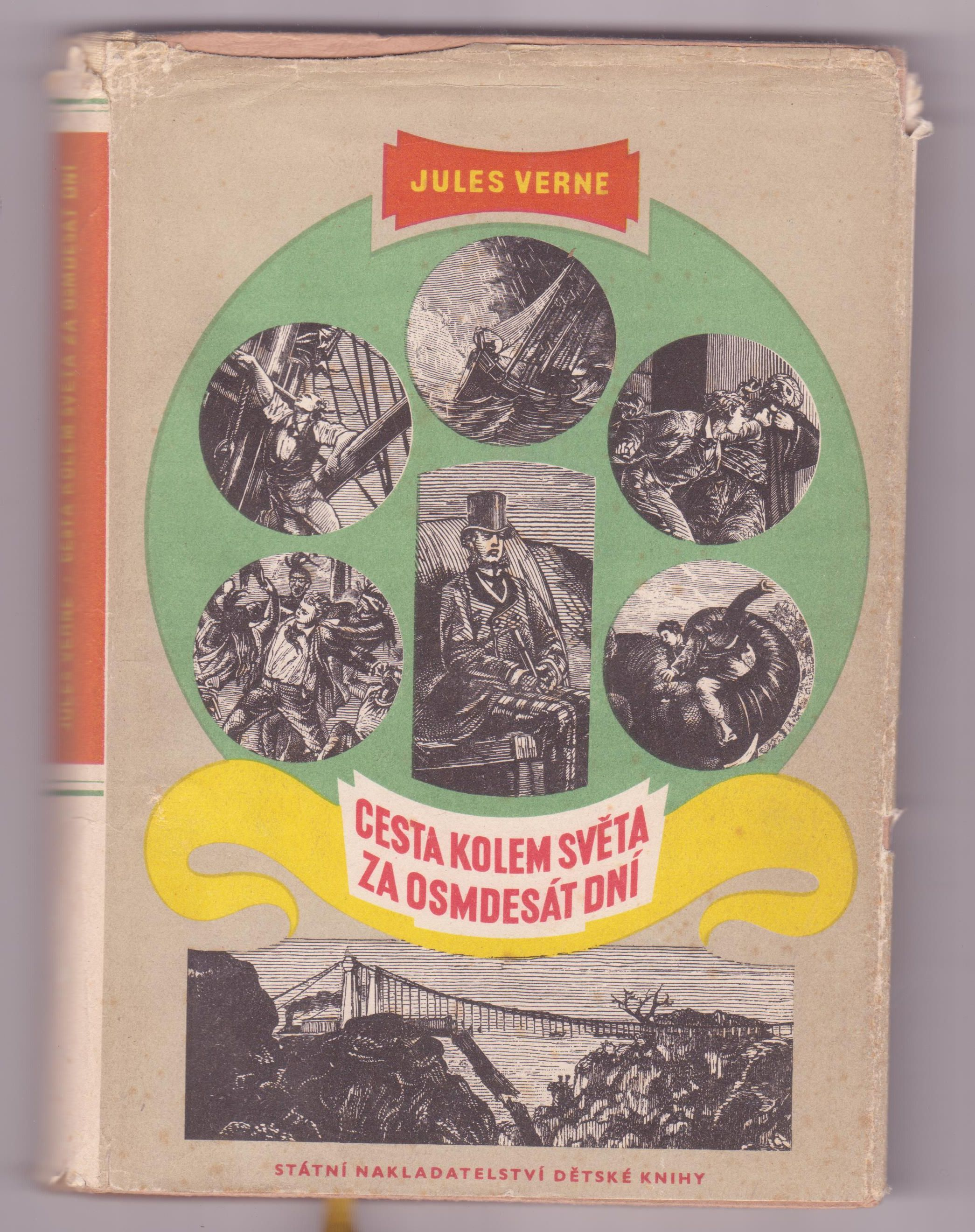 Cesta kolem světa za osmdesát dní - Jules Verne