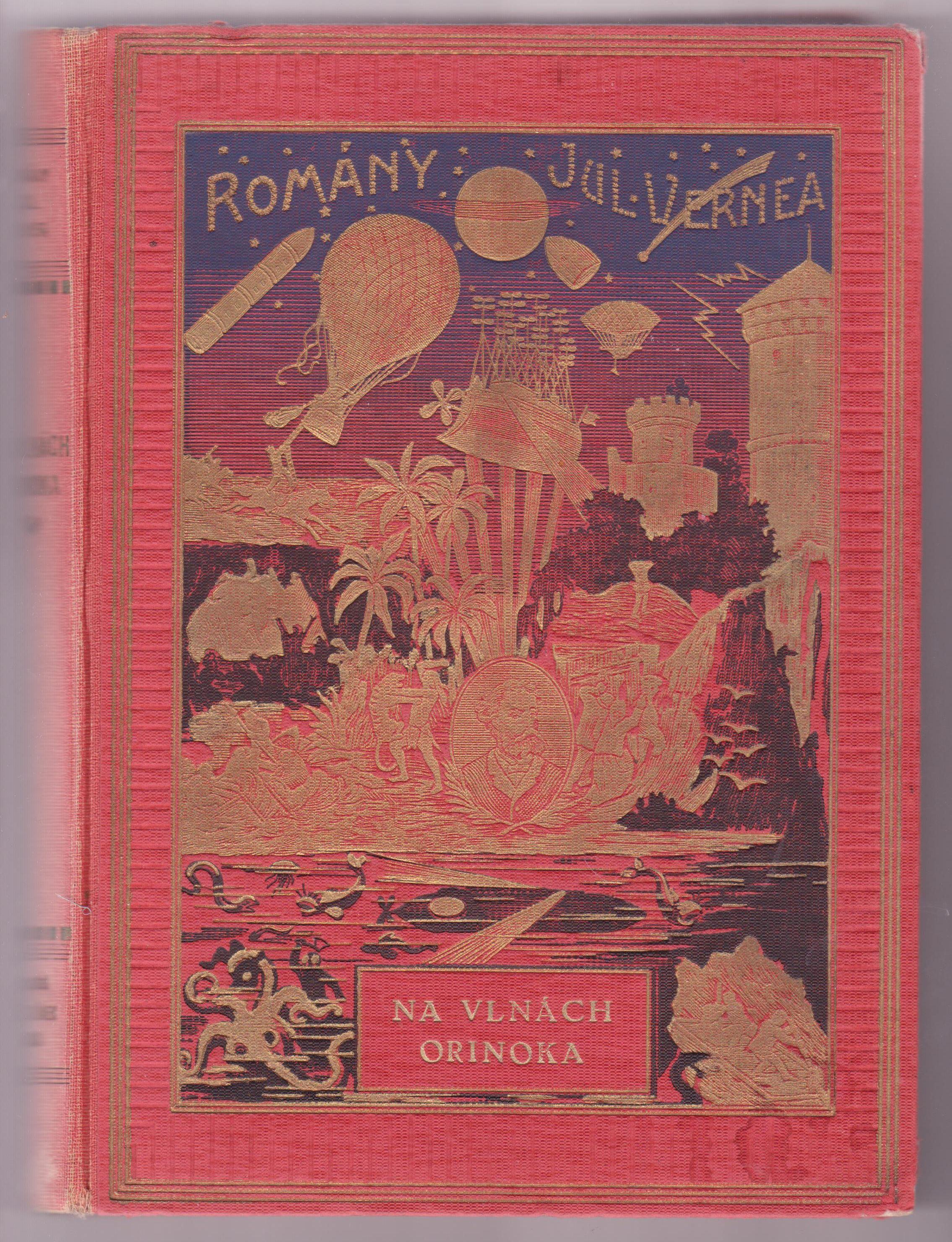 Na vlnách Orinoka - Julius Verne
