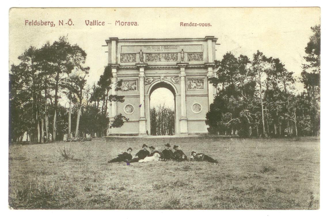 Pohled - Valtice - Morava. - Randez-vous