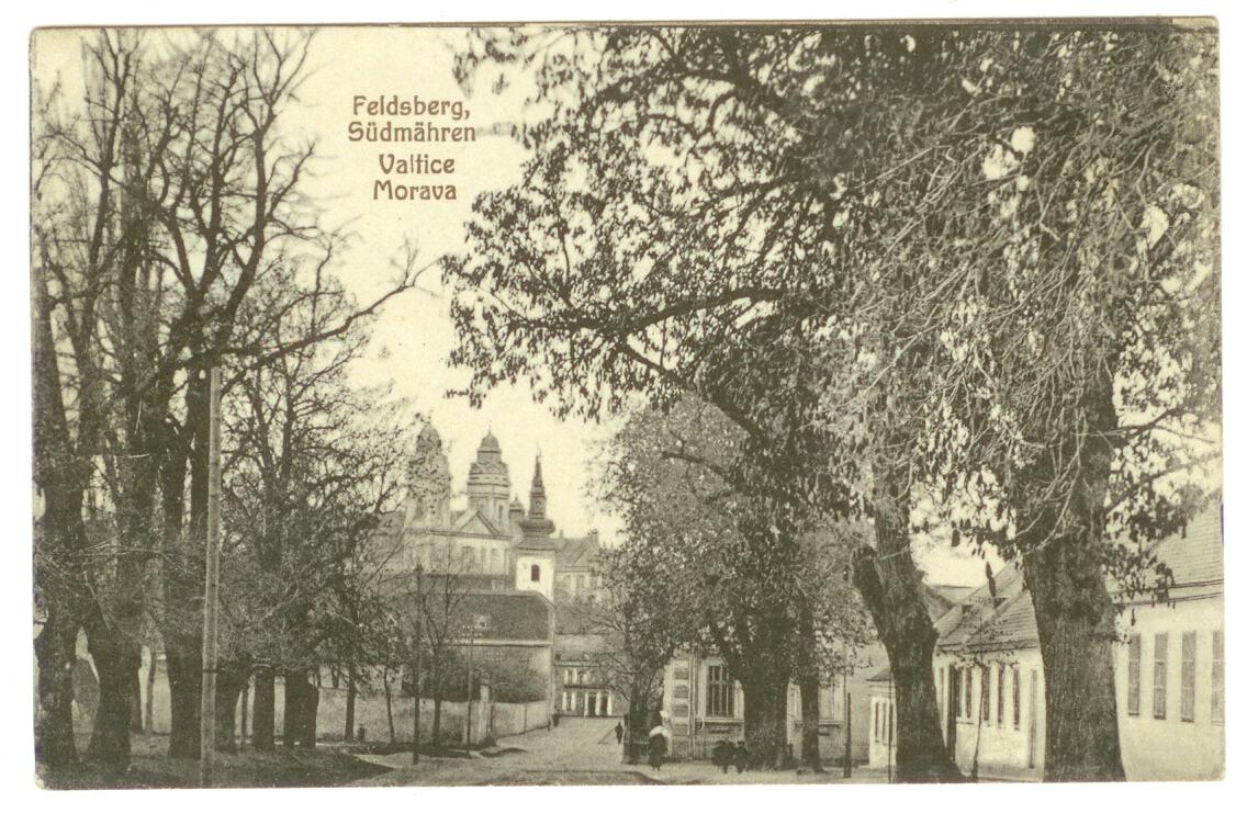 Pohled - Valtice - Morava
