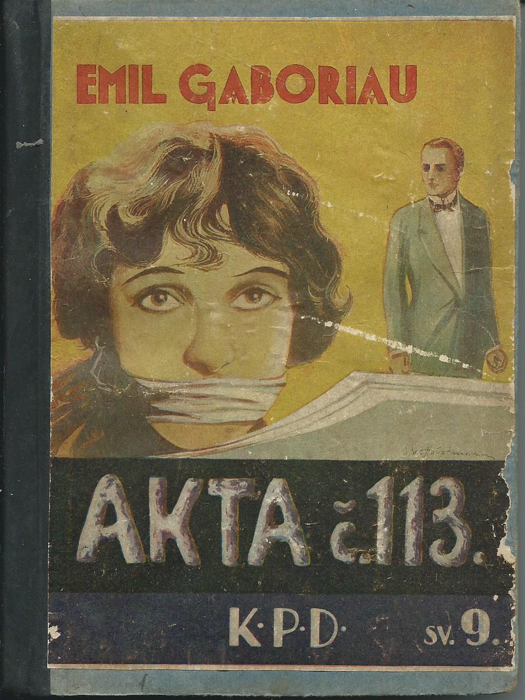 Akta č.113 - Emil Gaboriau