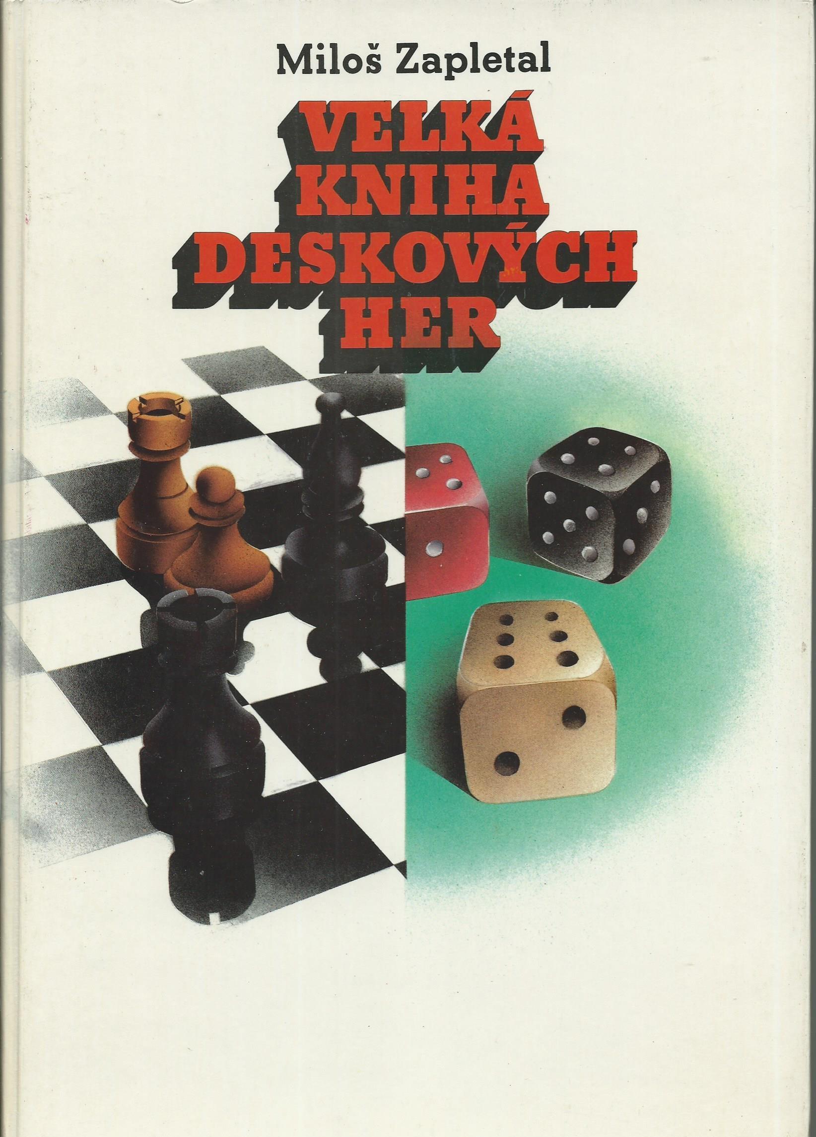 Velká kniha deskových her - Miloš Zapletal