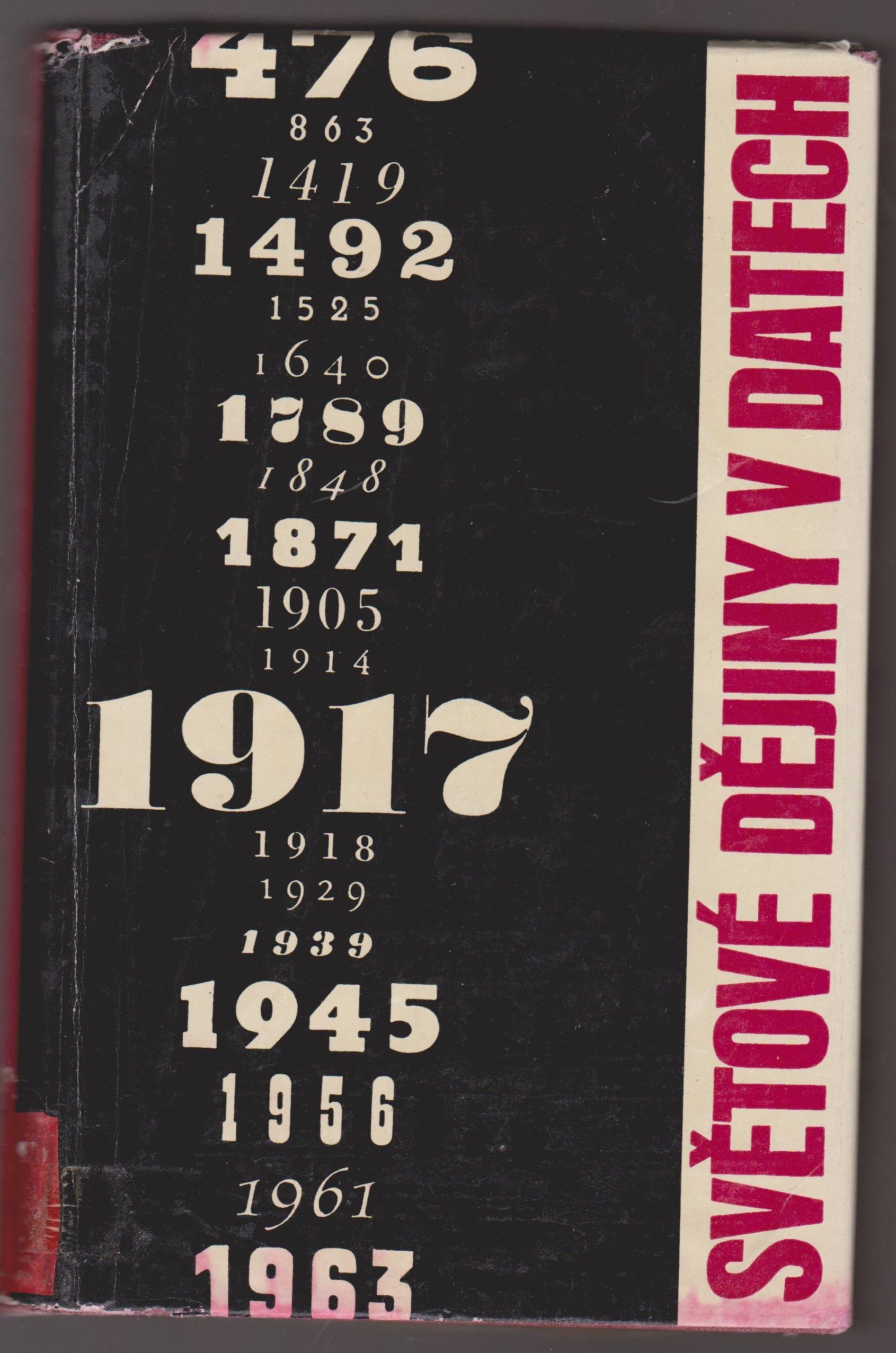 Světové dějiny v datech (I) - kolektiv autorů