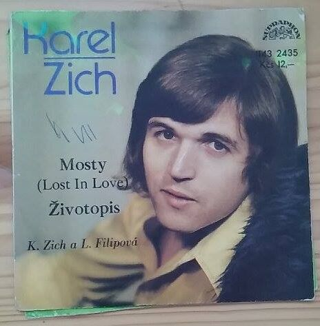 Karel Zich - Mosty, Životopis (gramodeska, SP)
